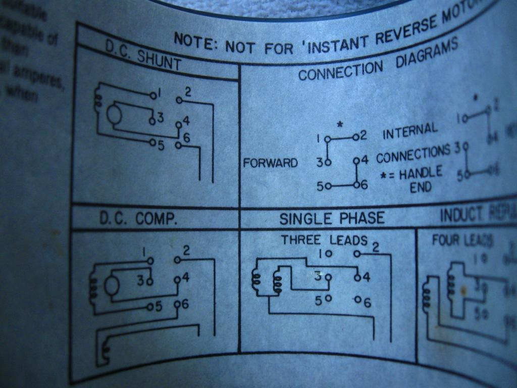Dayton Wiring Schematic Library Emerson Electric Motors Diagrams Motor Model K2638xabl 1953 Fwd Rev W Drum Sw