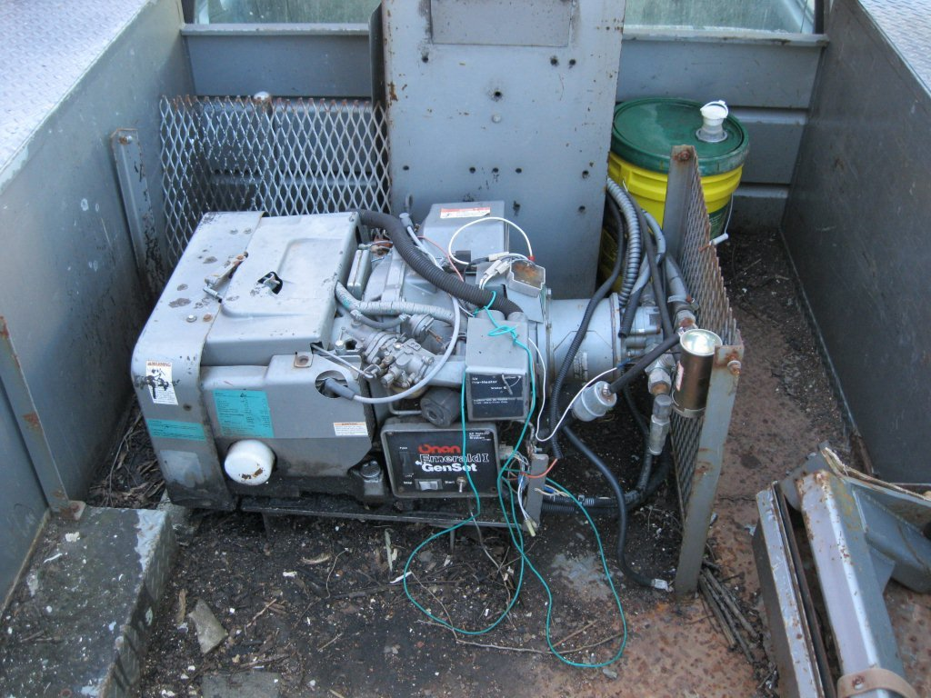 I have a genset on a altec bucket that I can\'t find markings on. The ...