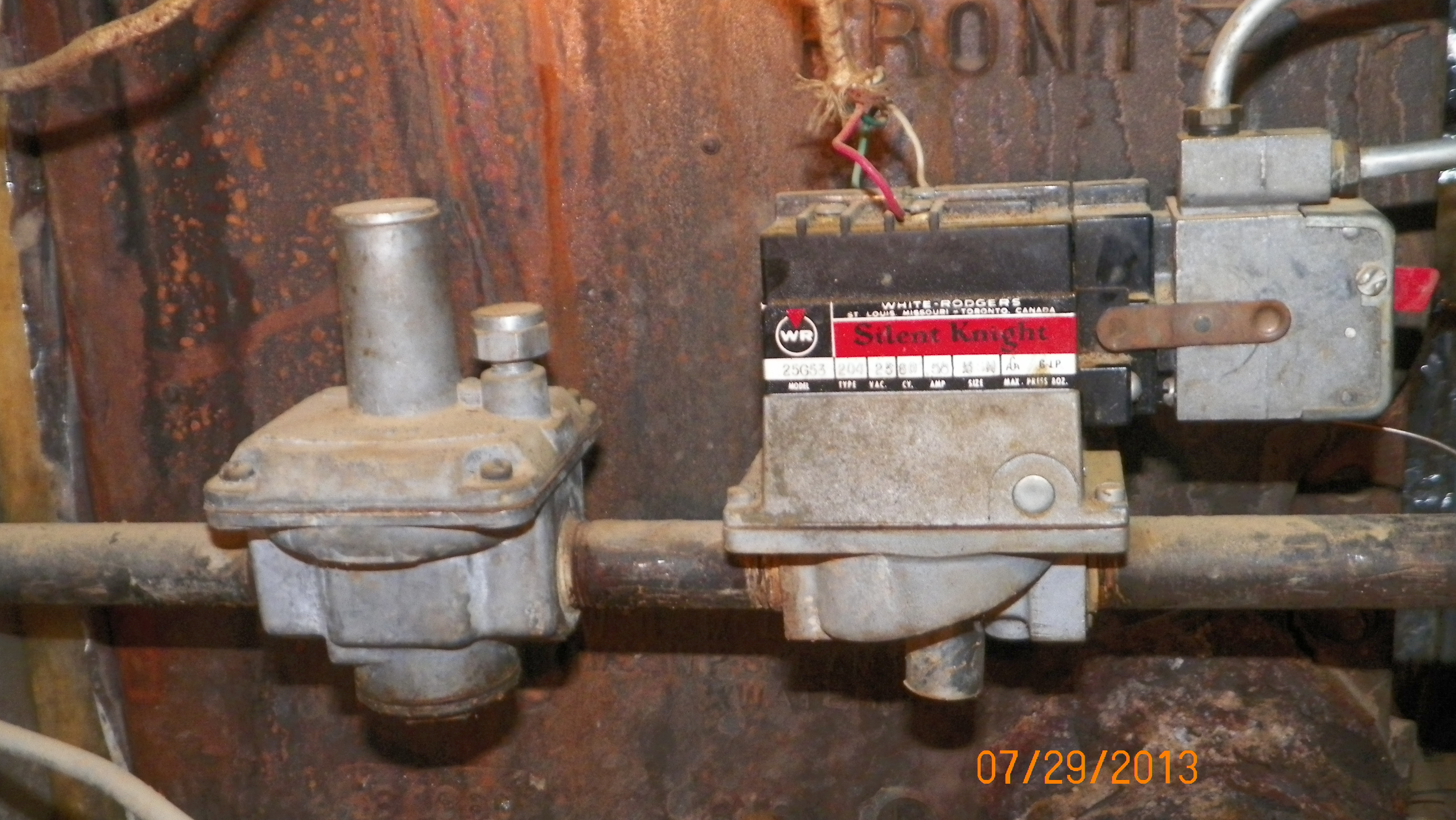 I Need A New Gas Valve Set Up For A Weil Mclain Boiler 5e