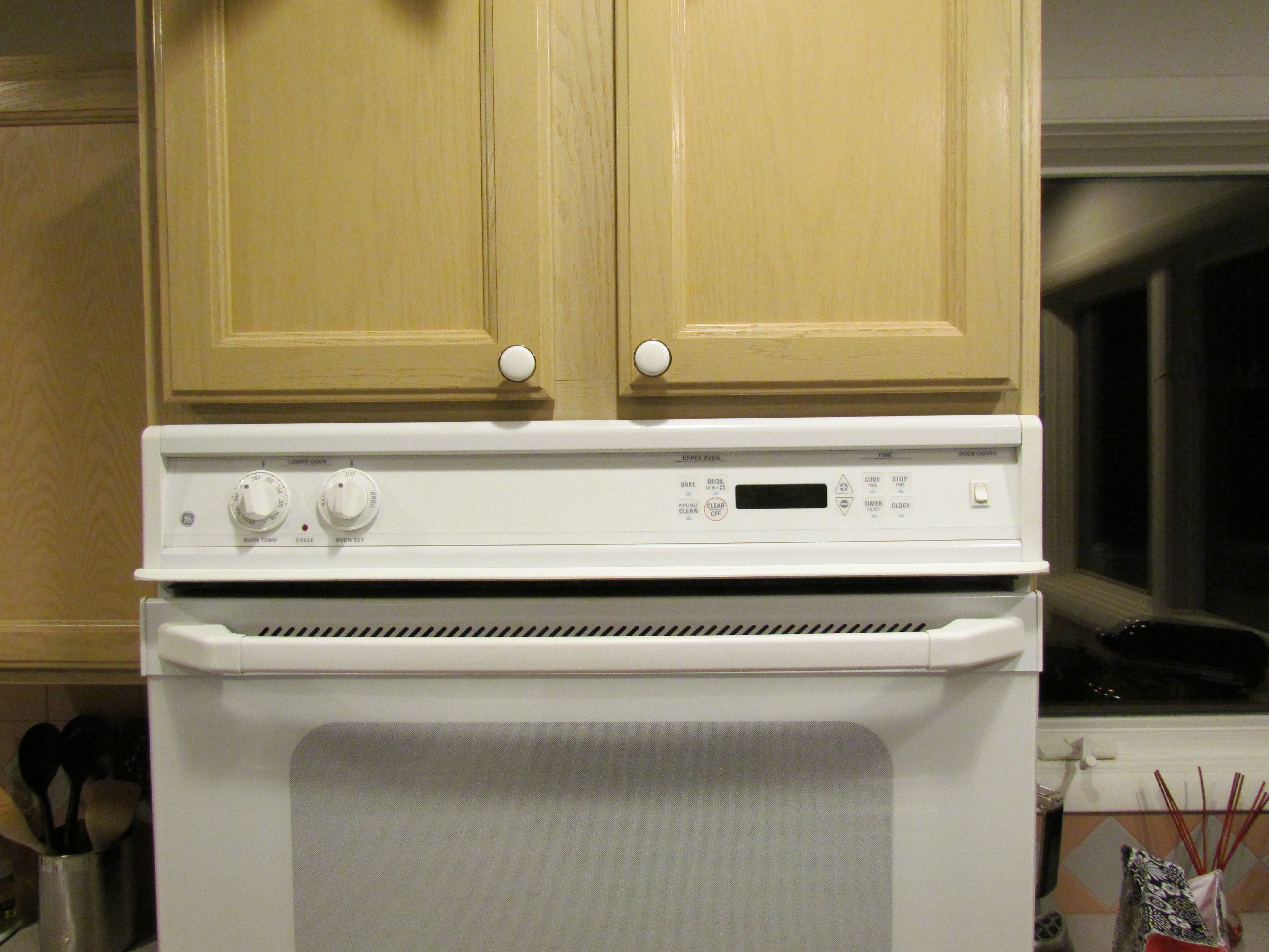 I have a ge double oven jtp27. The top oven will not shut ... Ge Oven Schematic Diagram Jkp Woa Ww on