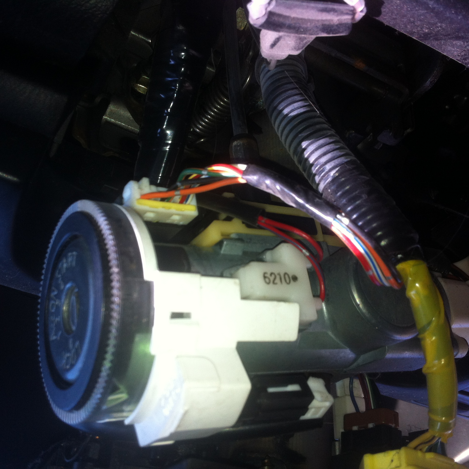 2001 Nissan Maxima Ignition Switch: I Am Having Problems With A The Starter From A 2001 Nissan