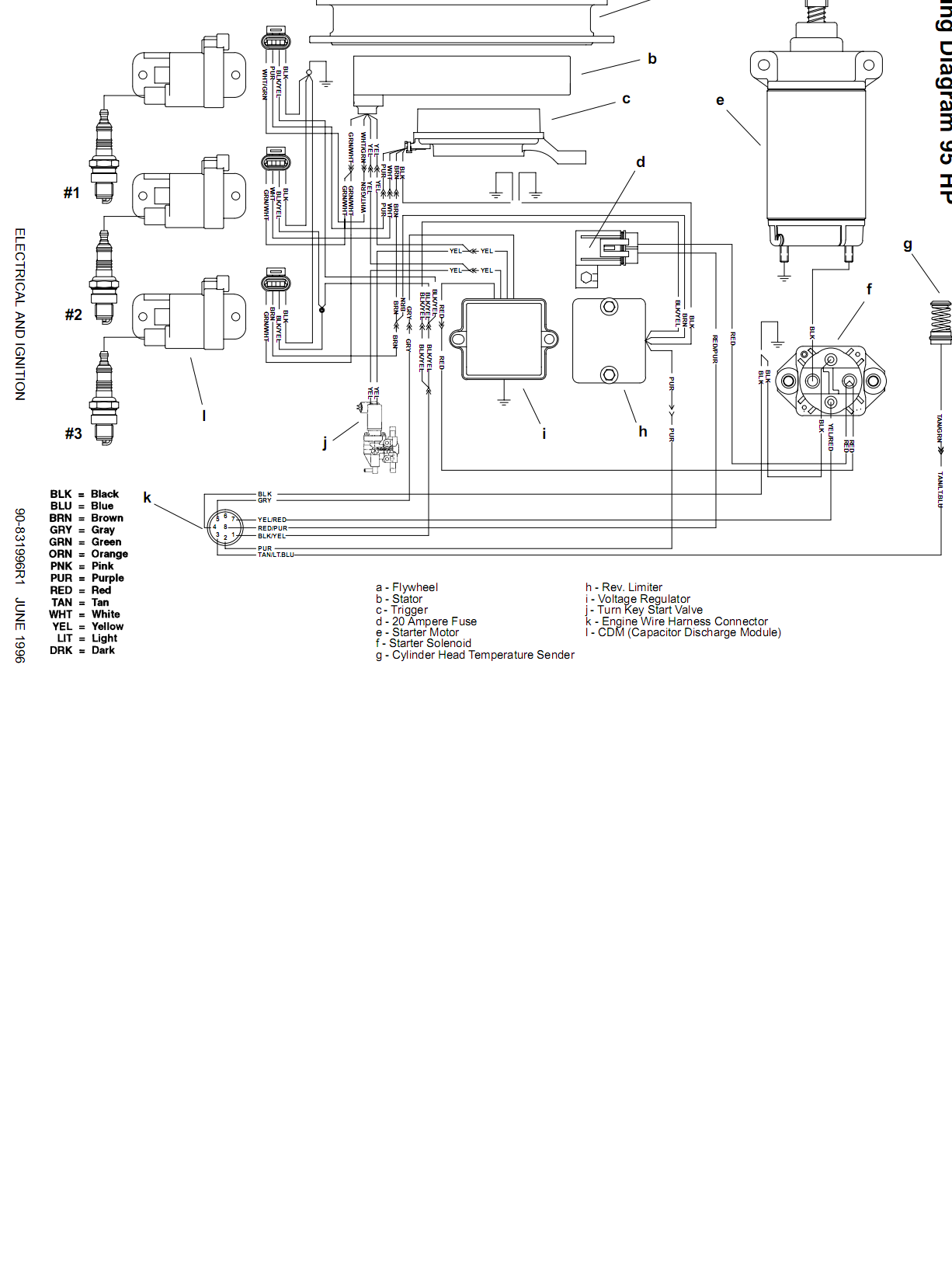 mercury sport jet 90 wiring diagram i have purchased a 1994 searay sea raider with a 90hp #13