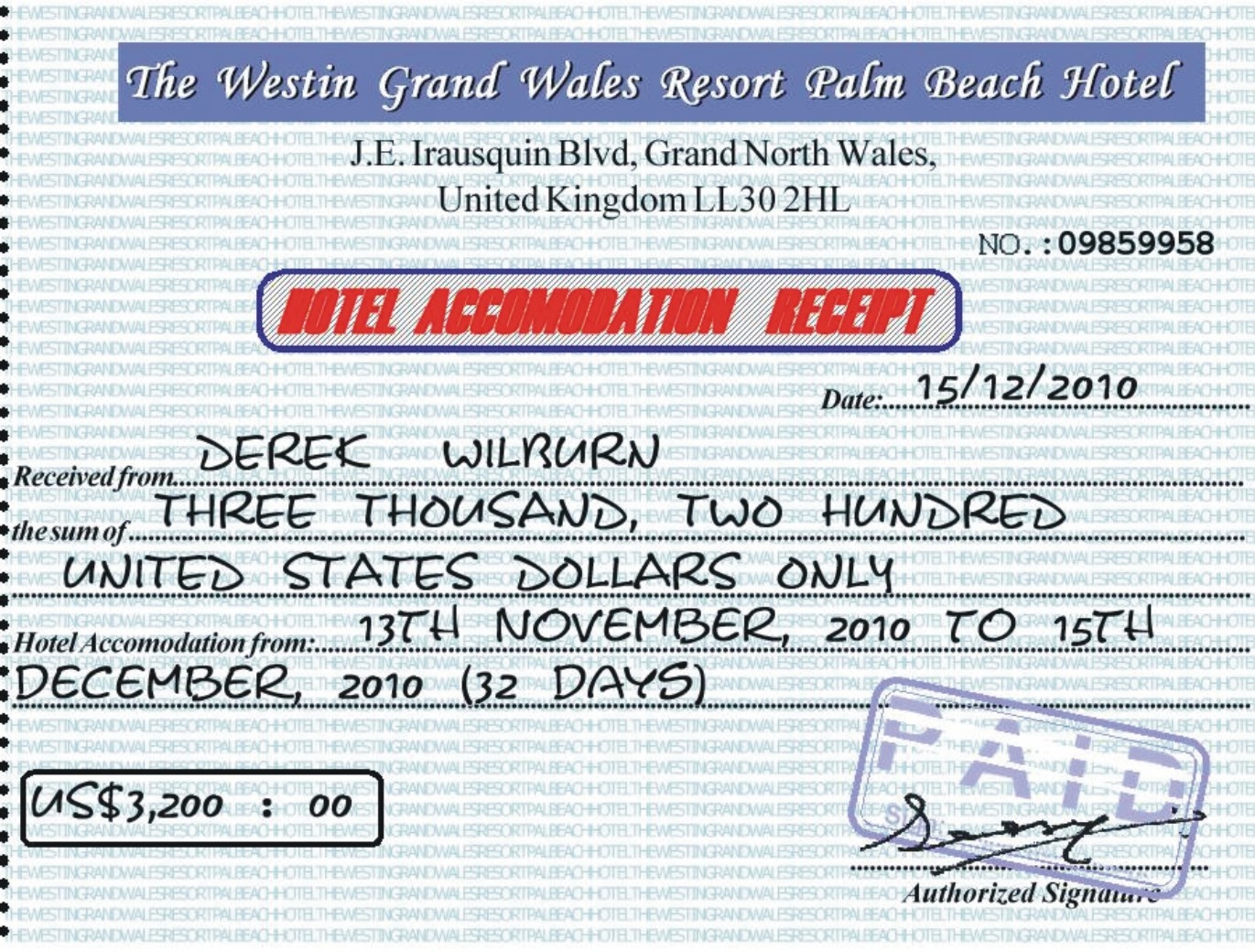 I was scammed by Derek Wilburn for tens of thousands of ...