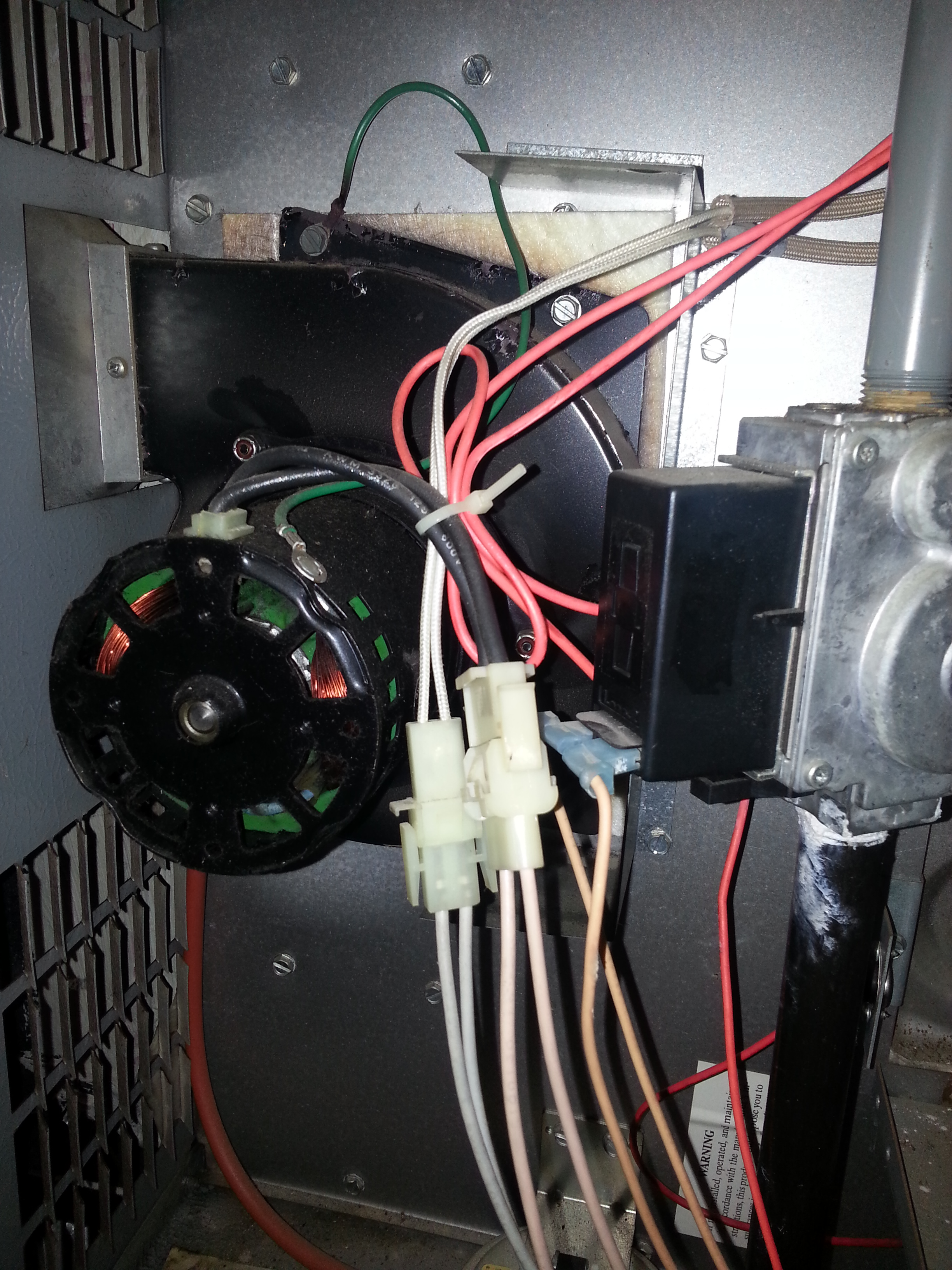 I just installed my nest and no power to (RH) My furnace is gas. I ...