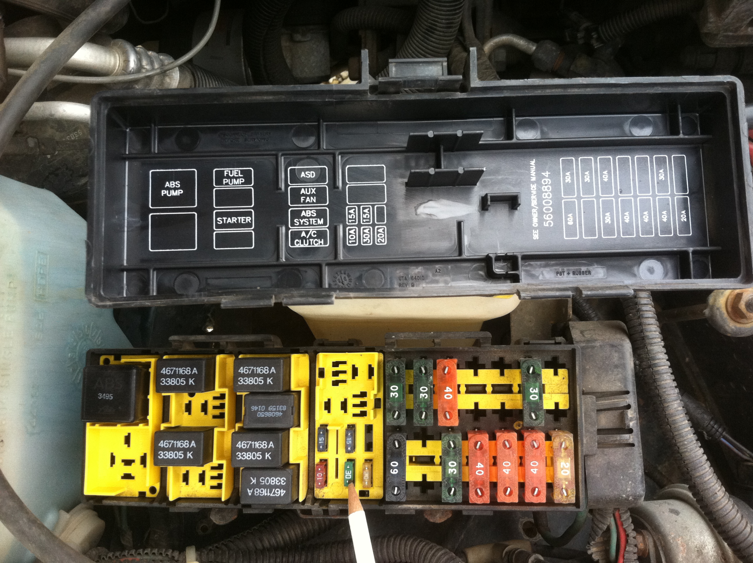 2001 Jeep Cherokee Sport Fuse Box Under Hood 44 Wiring Diagram 2000 Toyota Camry 2012 03 26 165239 Picture I Have A 1996 Xj