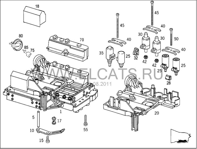 Ive Got Mb W211 E240 03 Model 211 061 With 722 696 Transmission