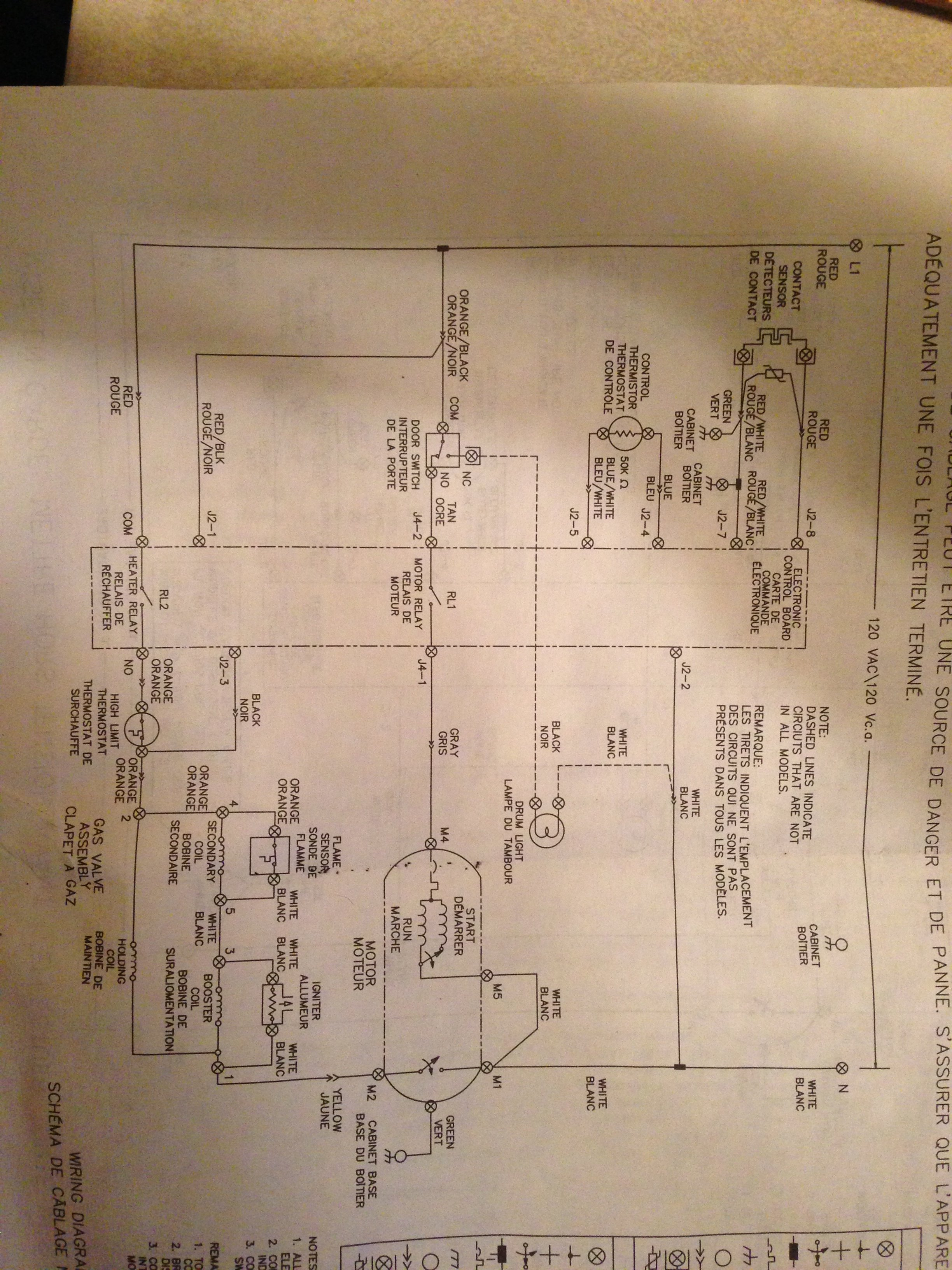 Wire Diagram Frigidaire Zer