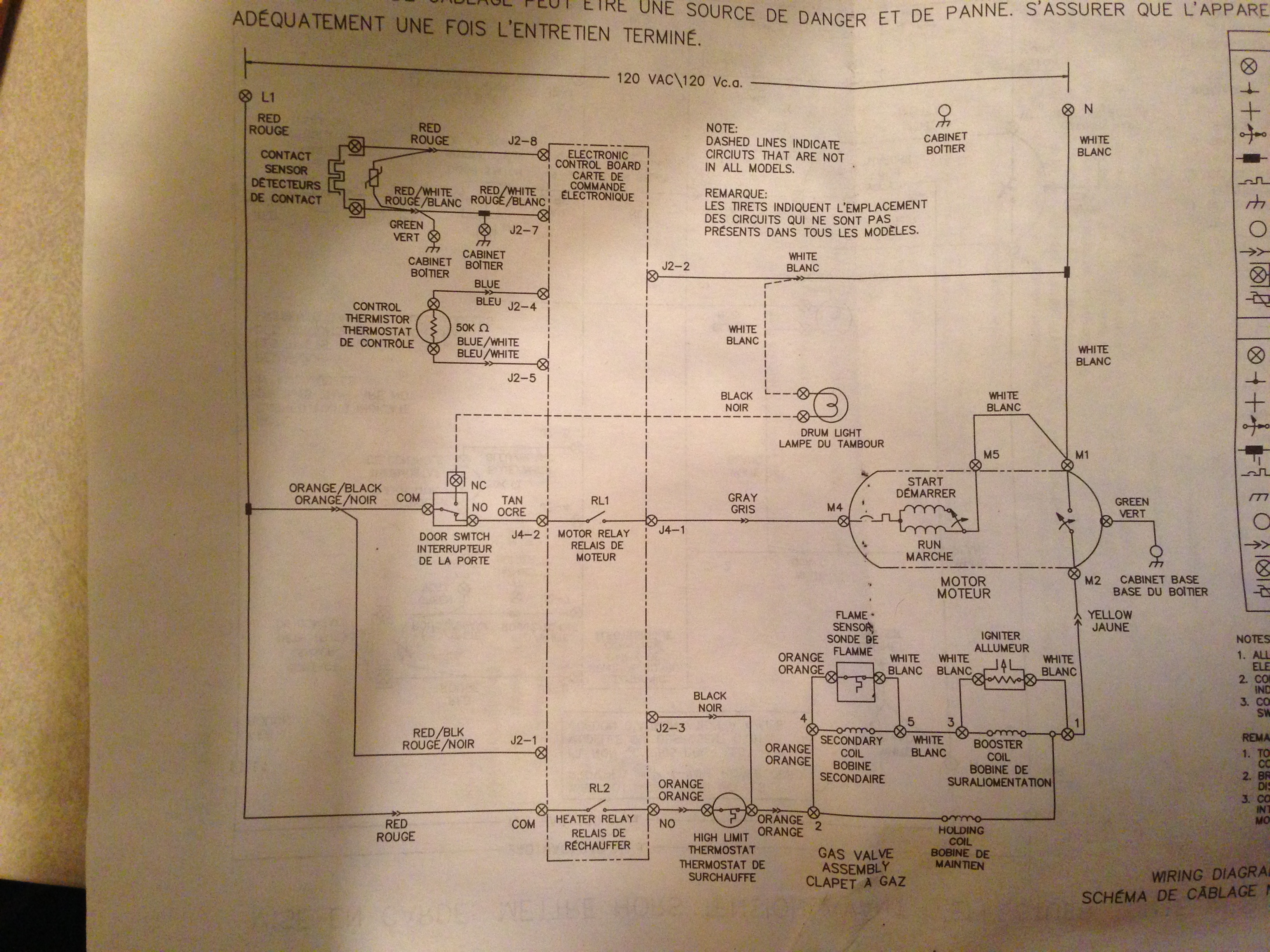 34 Frigidaire Dryer Wiring Diagram