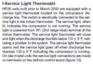 lennox hp26 036 7p manual
