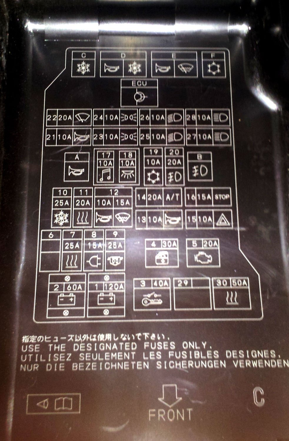 mitsubishi pajero fuse box diagram mazda fuse box diagram