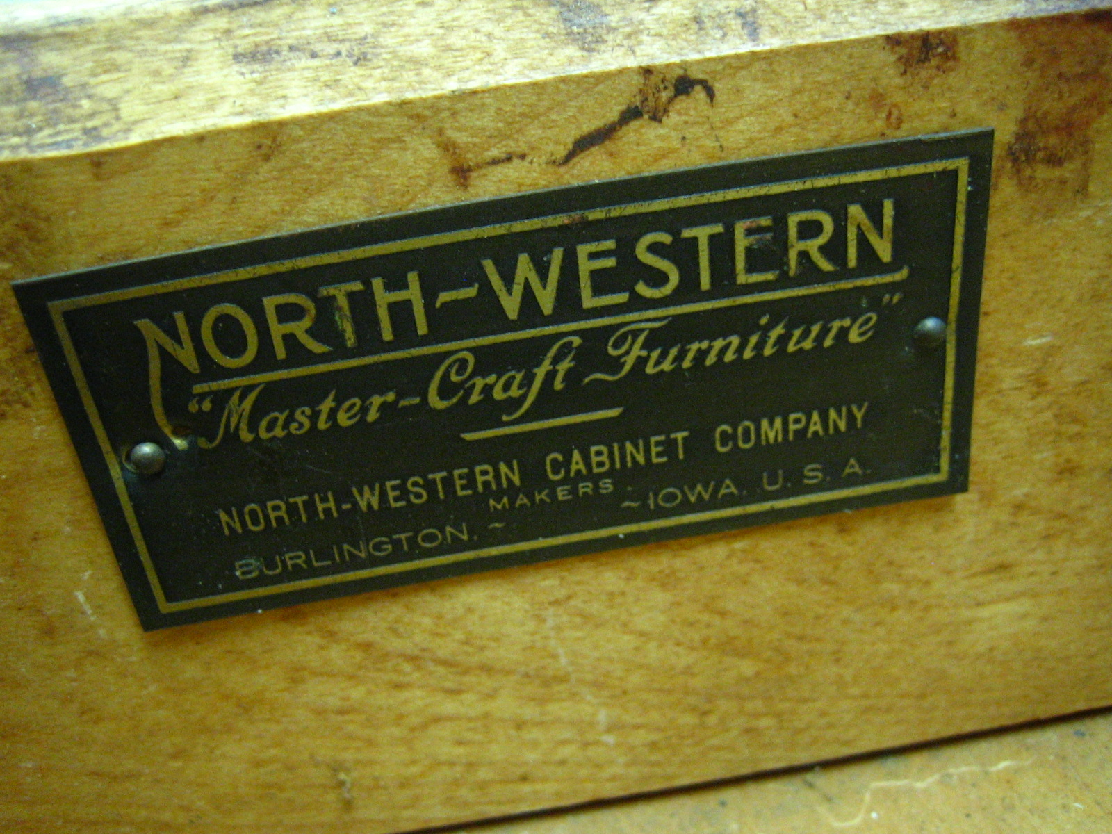 Northwestern Mastercraft Furniture Burlington Iowa