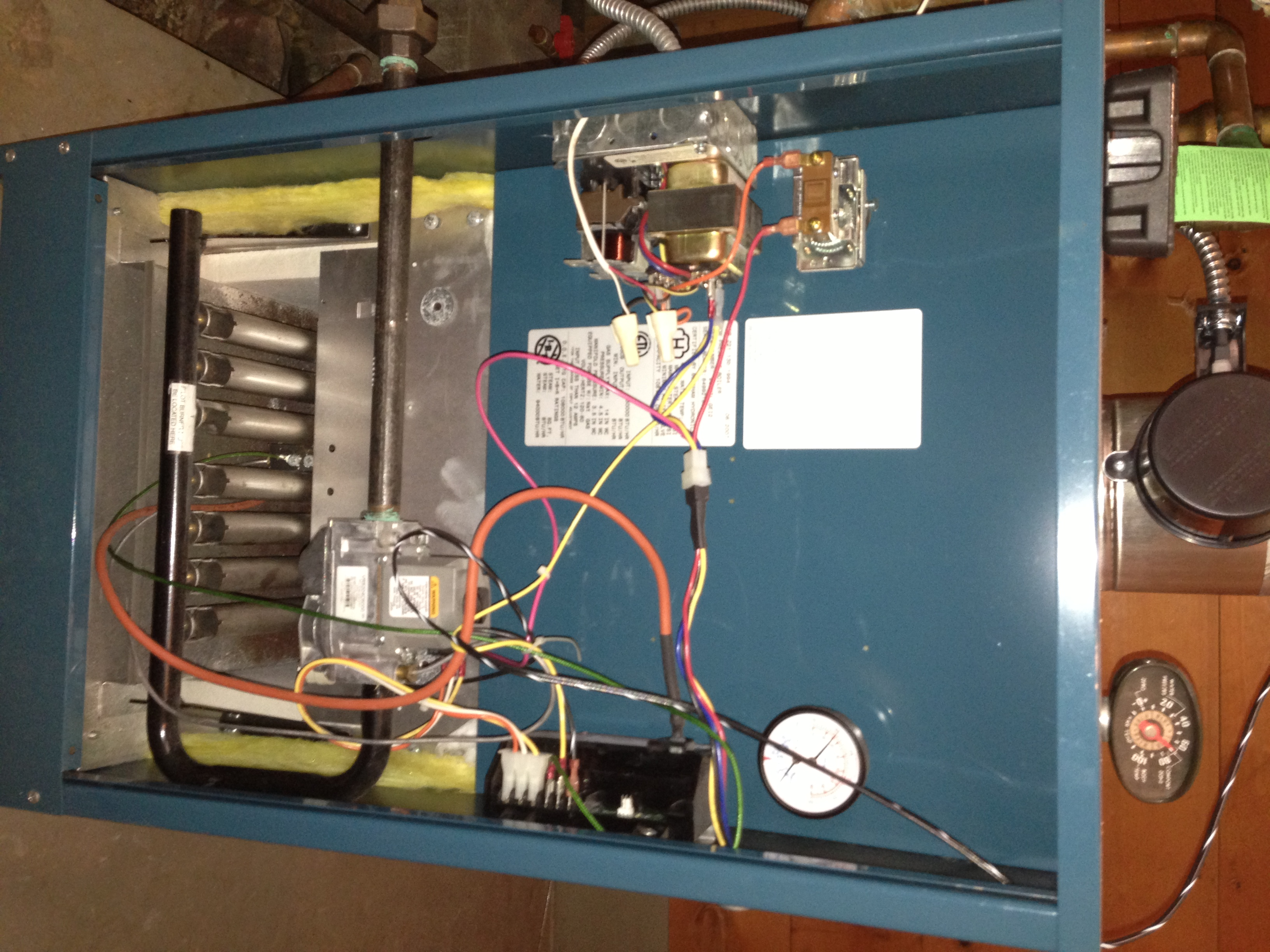 I have an old Honeywell thermostat (model T87F) that controls only ...