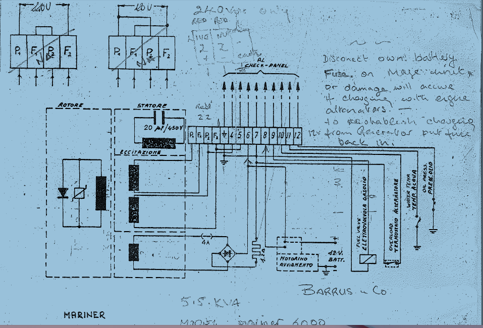 I have very low voltage output on my generator, only 2.8 vac.  Generac Generator Wiring Diagram on