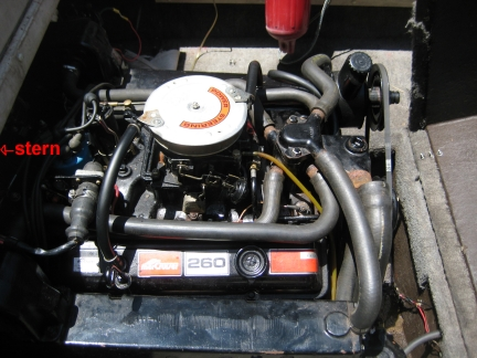 Is there an owners manual for a 1983 mercruiser 260 v-8 ... on