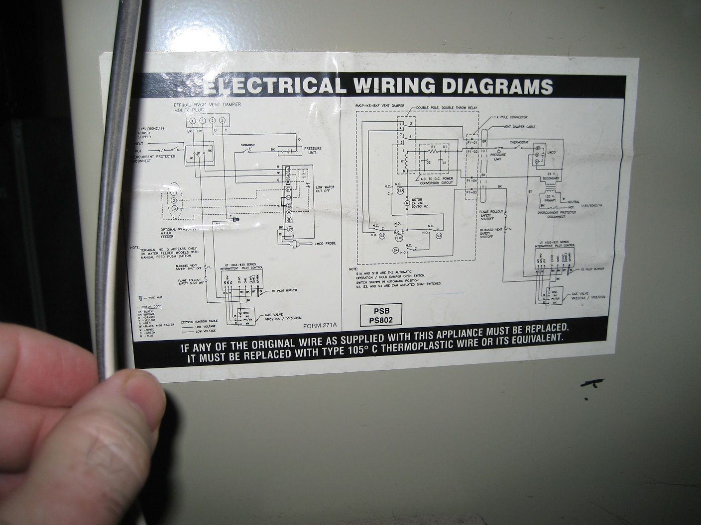 I Have A Carrier Dunkirk Natural Gas Steam Boiler Installed In 2001 Low Water Cut Off Wiring Diagram Is It Possible That The On Relay Not Correct