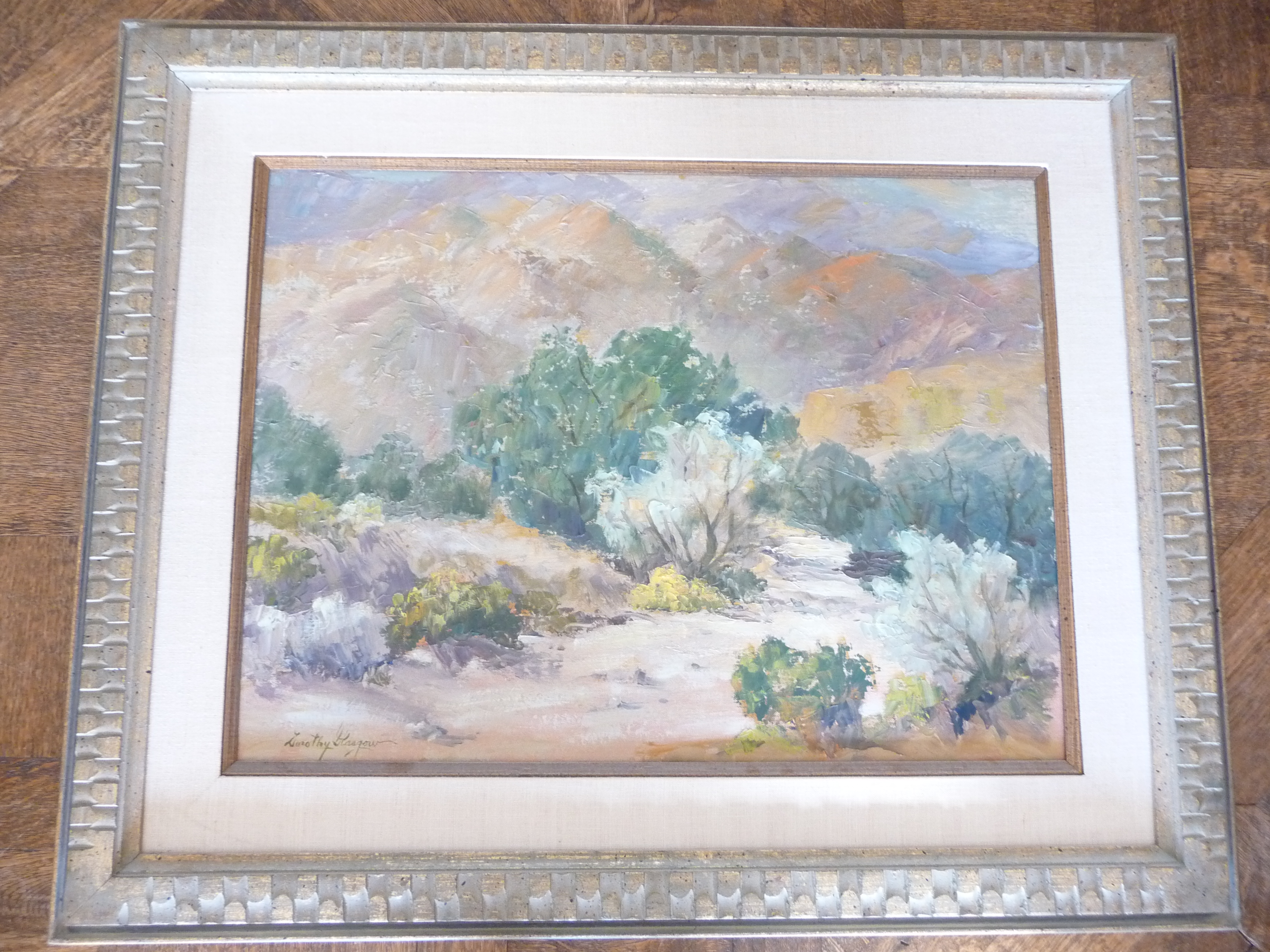 S., Paintings by Glasgow, Palm Springs, California What can you tell ...