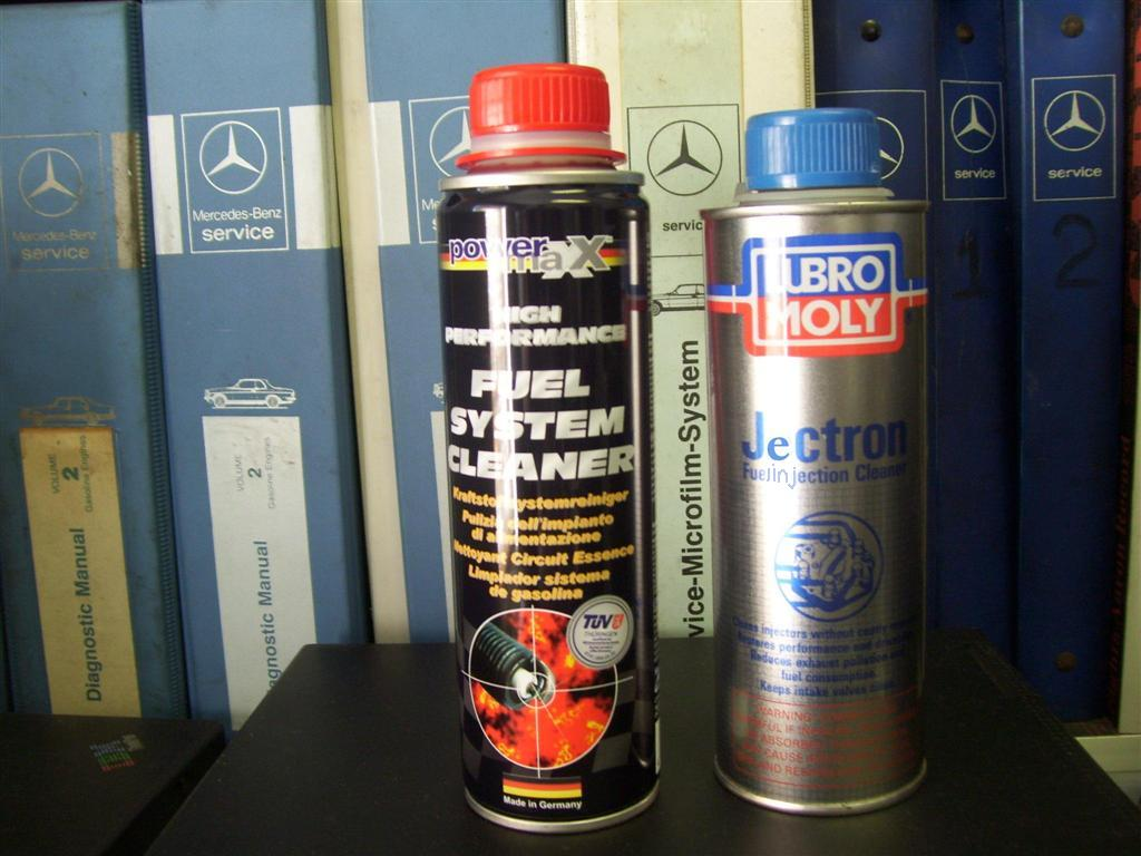 Looking For A Experienced Technician That Knows And Can Explain How Mercedes Benz Fuel Additives The Additive On Left Was Used To Clean Enginethe Gm Top Engine Cleaner Not Available Discontinued Part Number