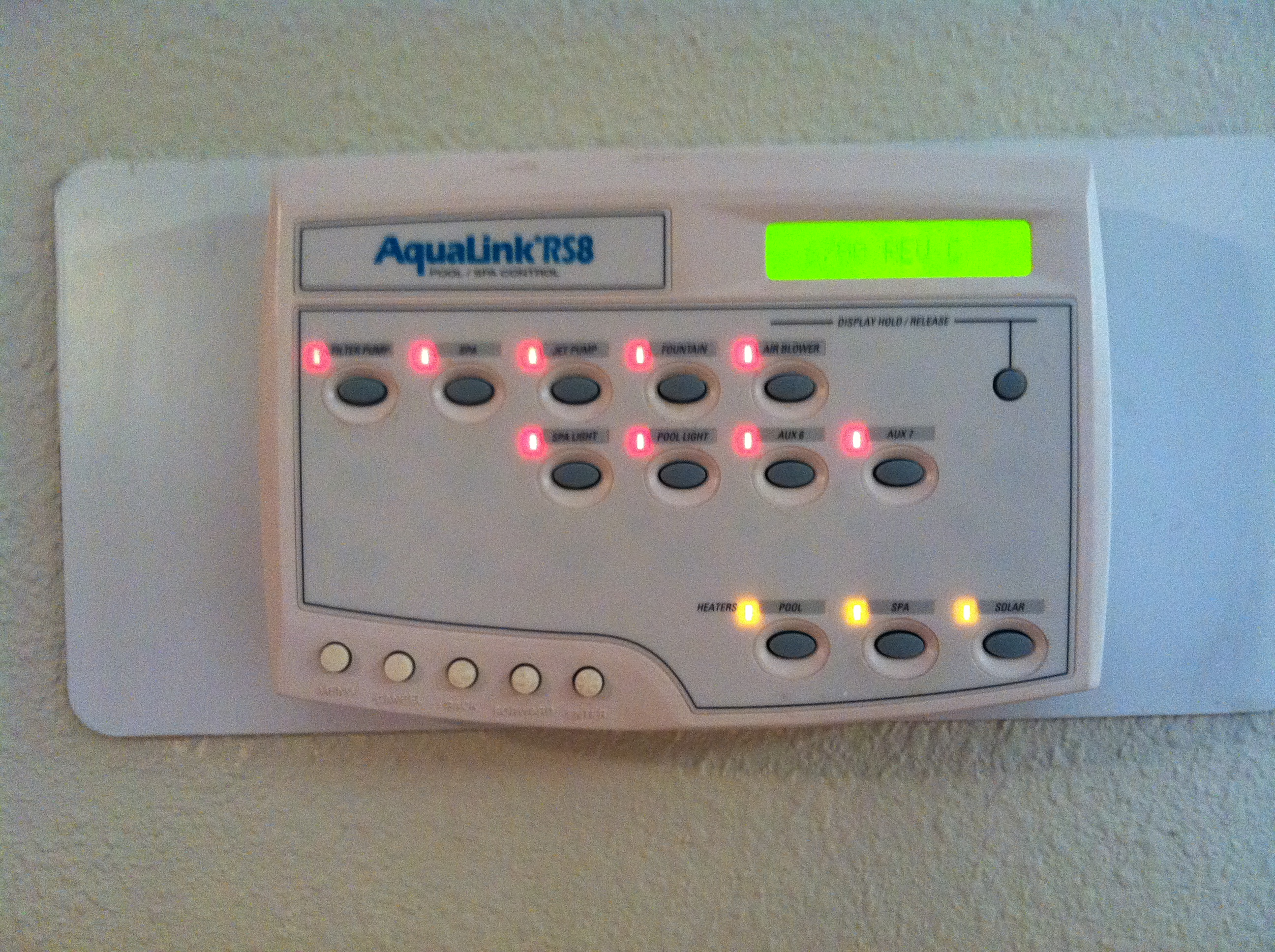 Aqualink Rs Pool Control Center Not Communicating With Main Box 6613 Jandy Actuator Wiring Diagram Full Size Image