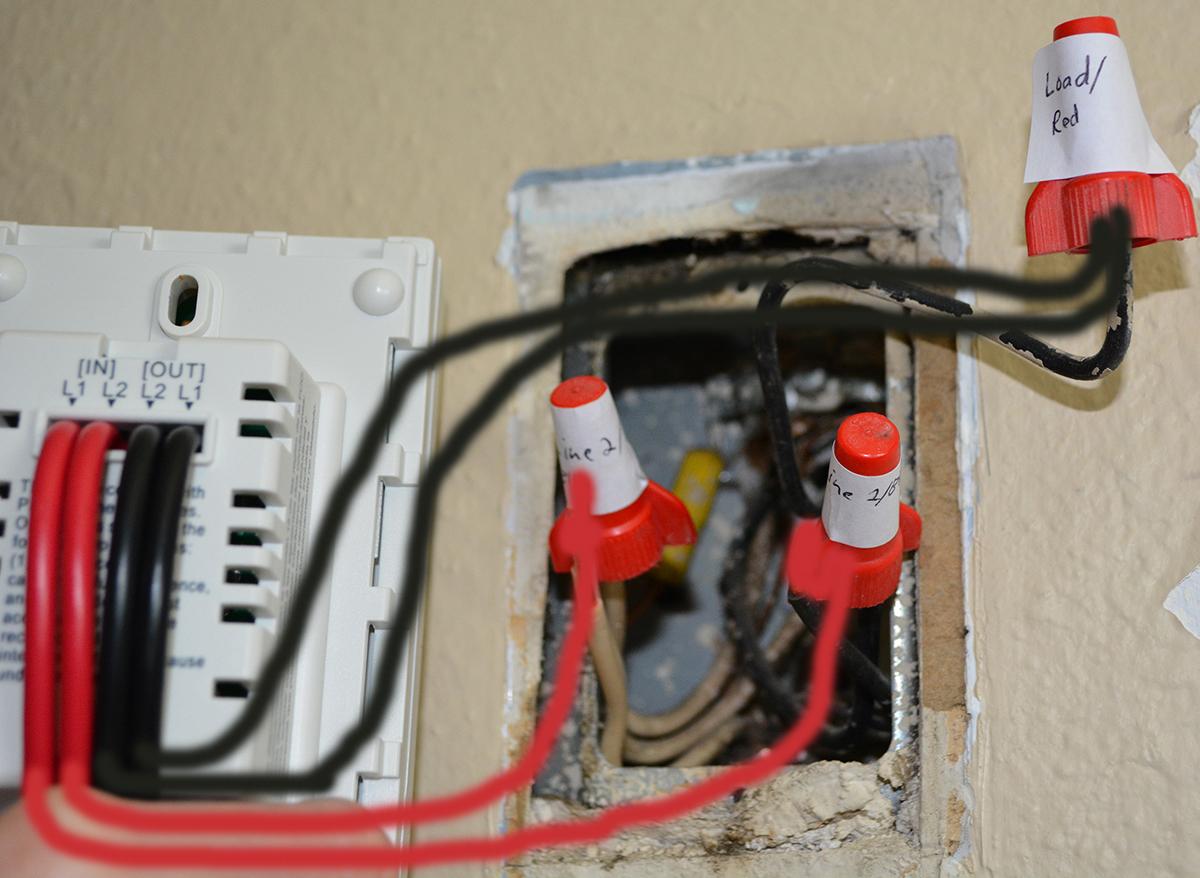 Proposed wiring setup