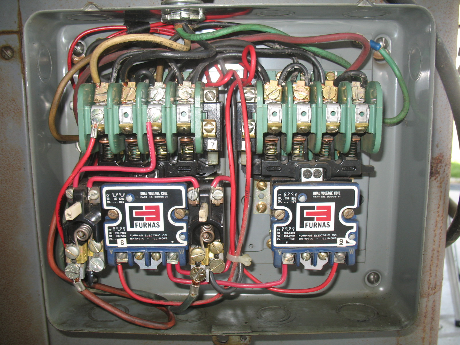 I Saw Your Post Regarding An Old Ge Motor Last Year And Wiring It Up. Wiring. J5 Furnas Switch Wiring Diagram At Scoala.co