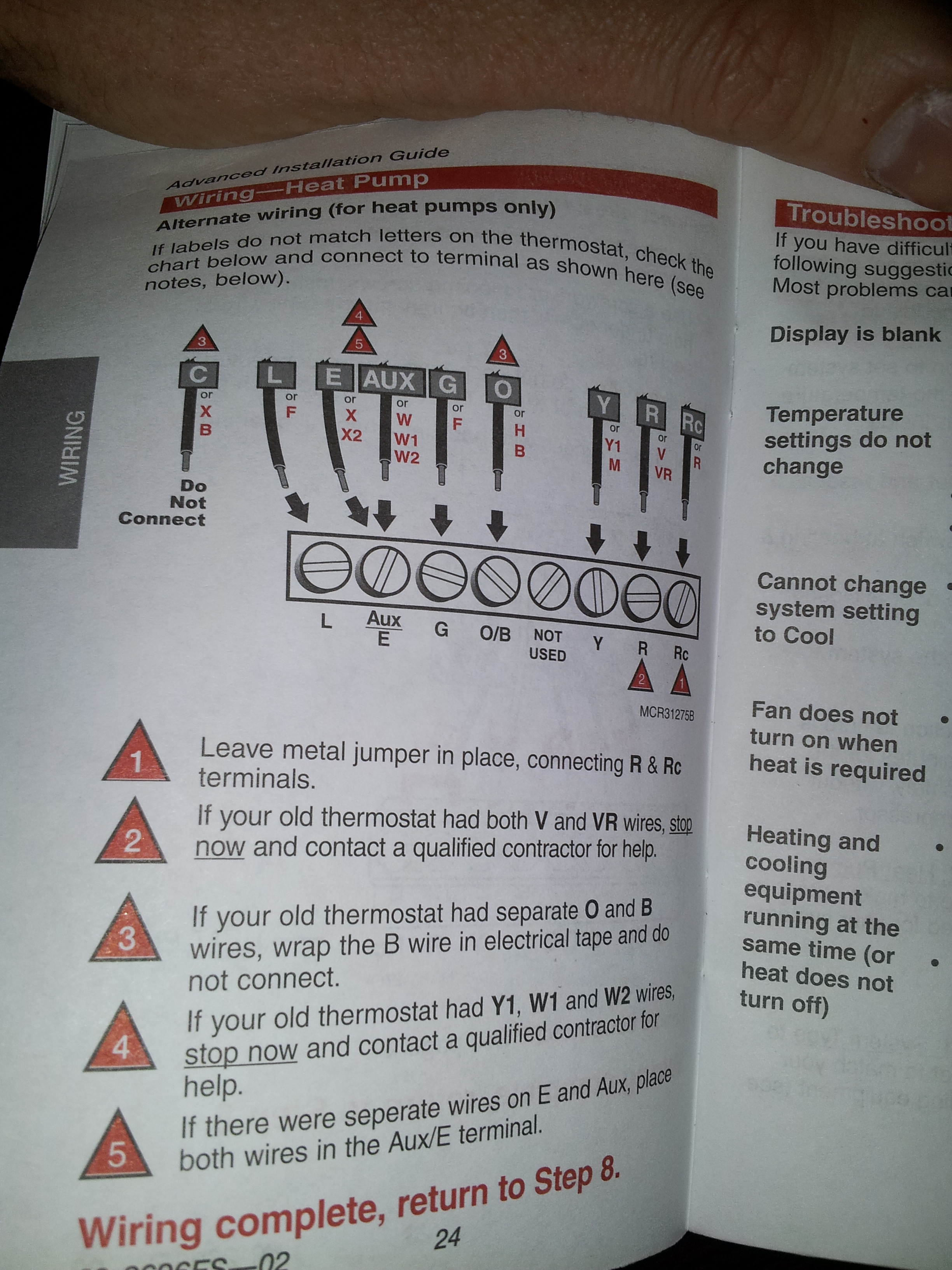 totaline wiring diagram i'm installing a honeywell rth6350. the thermostat i am ... #12