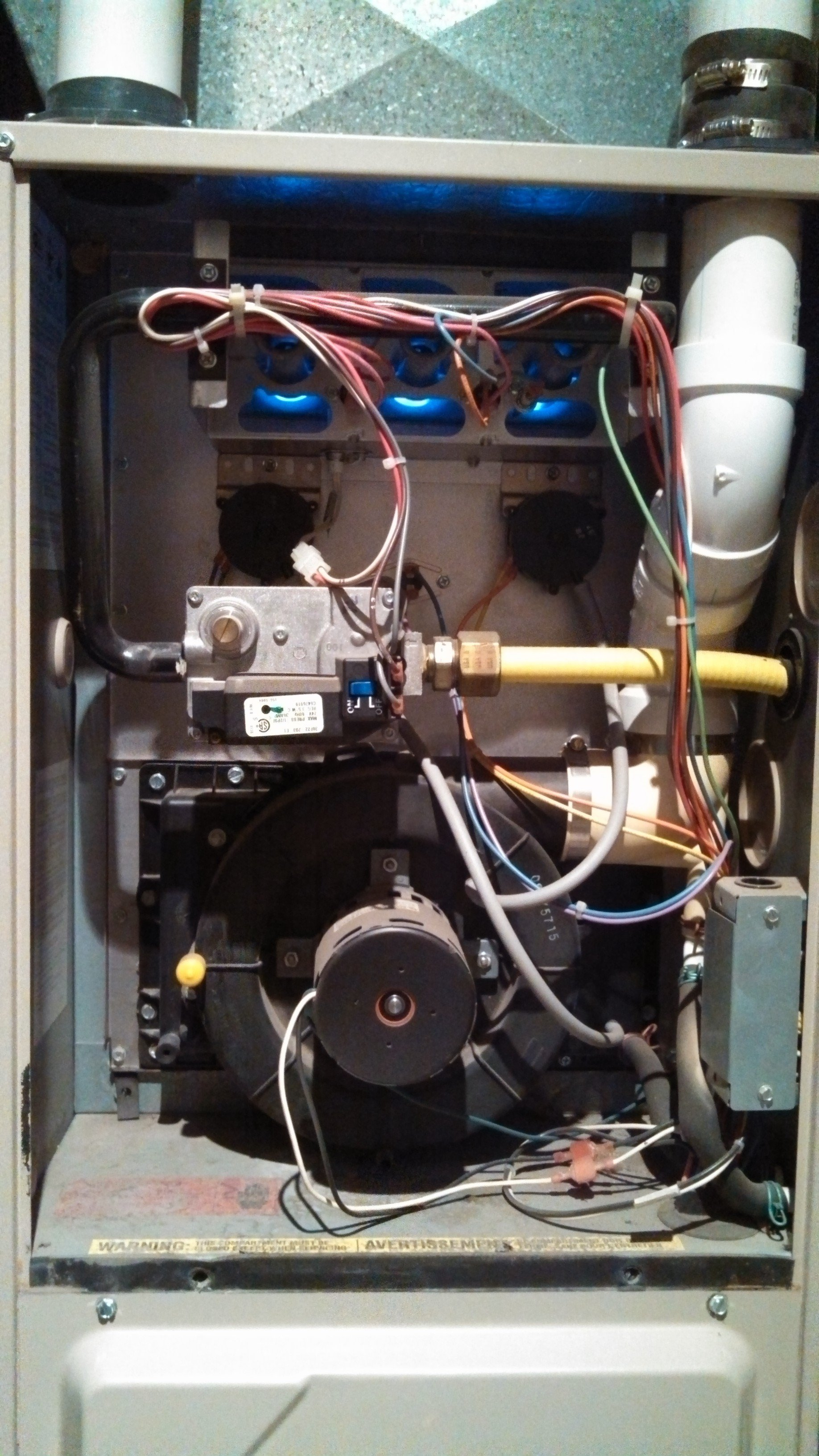 Amana 90 Air Command Ultra Efficiency Gas Furnace Won T