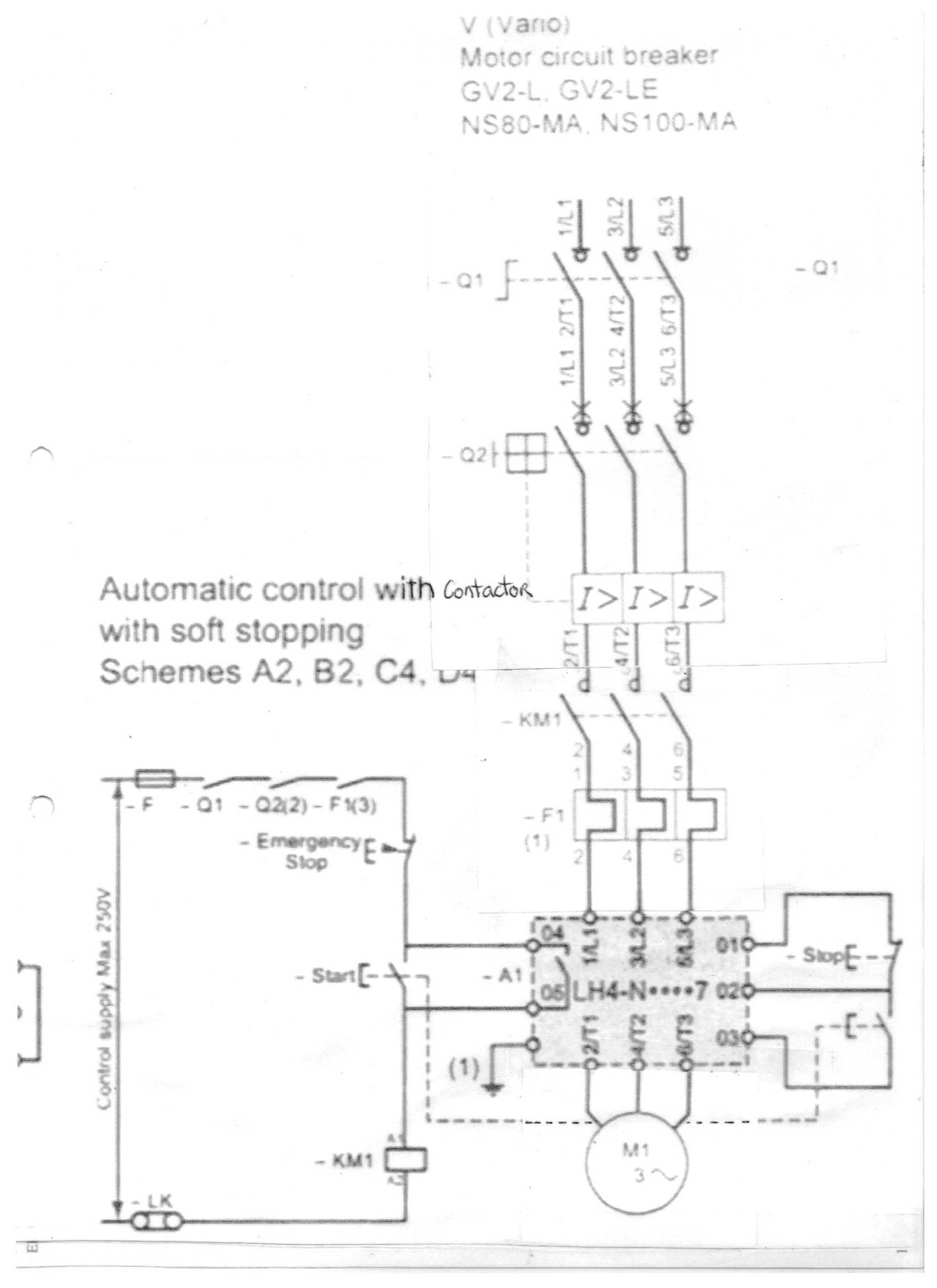 I Have An Electrical Drawing Of A Lh4n212qn7 Soft Start Soft Stop Id Like To Send To You To Have