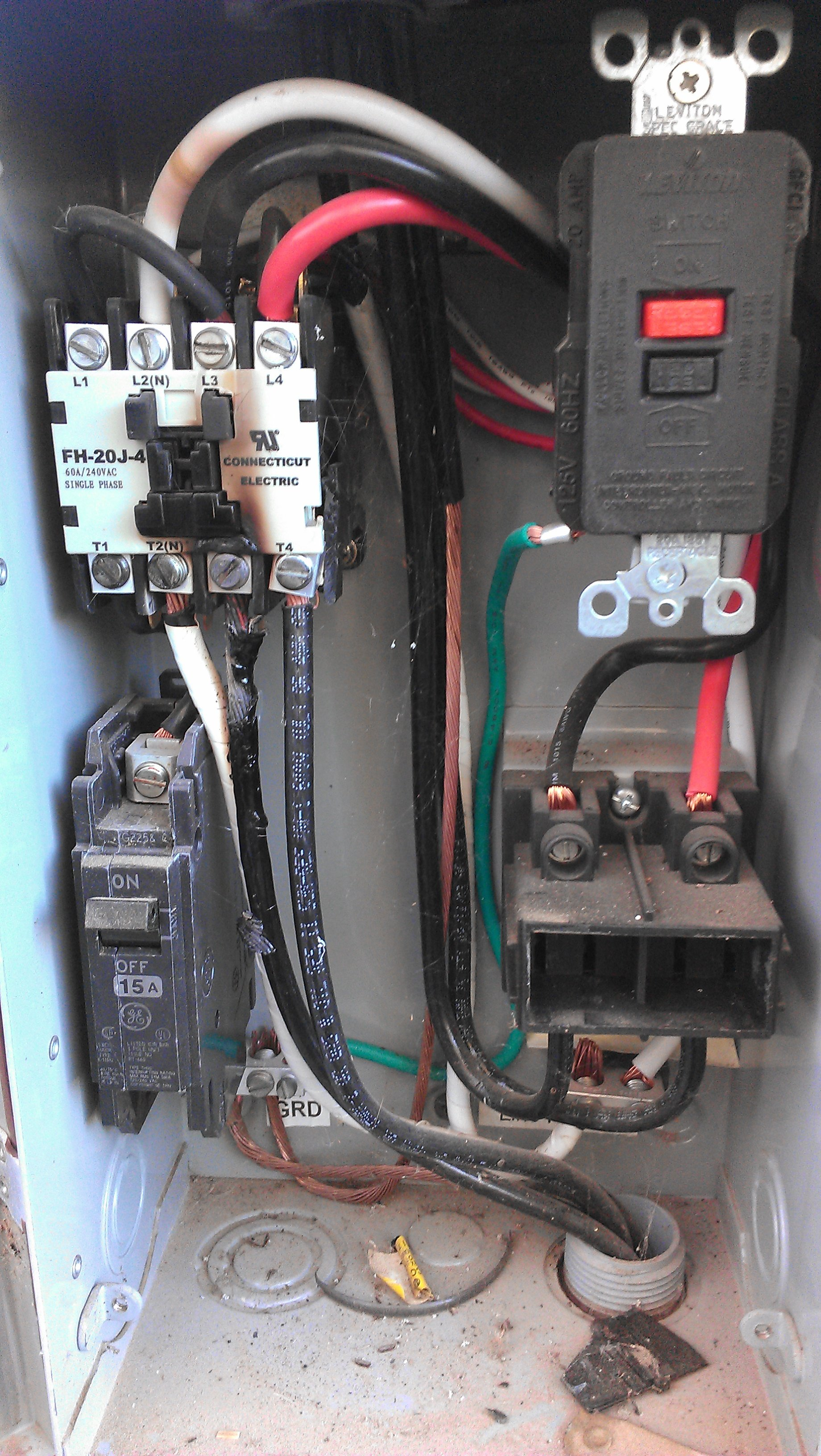 wiring diagram for a hot tub wiring a hot tub pump my hot tub gfci junction box fh 20j 4 conecticut electric