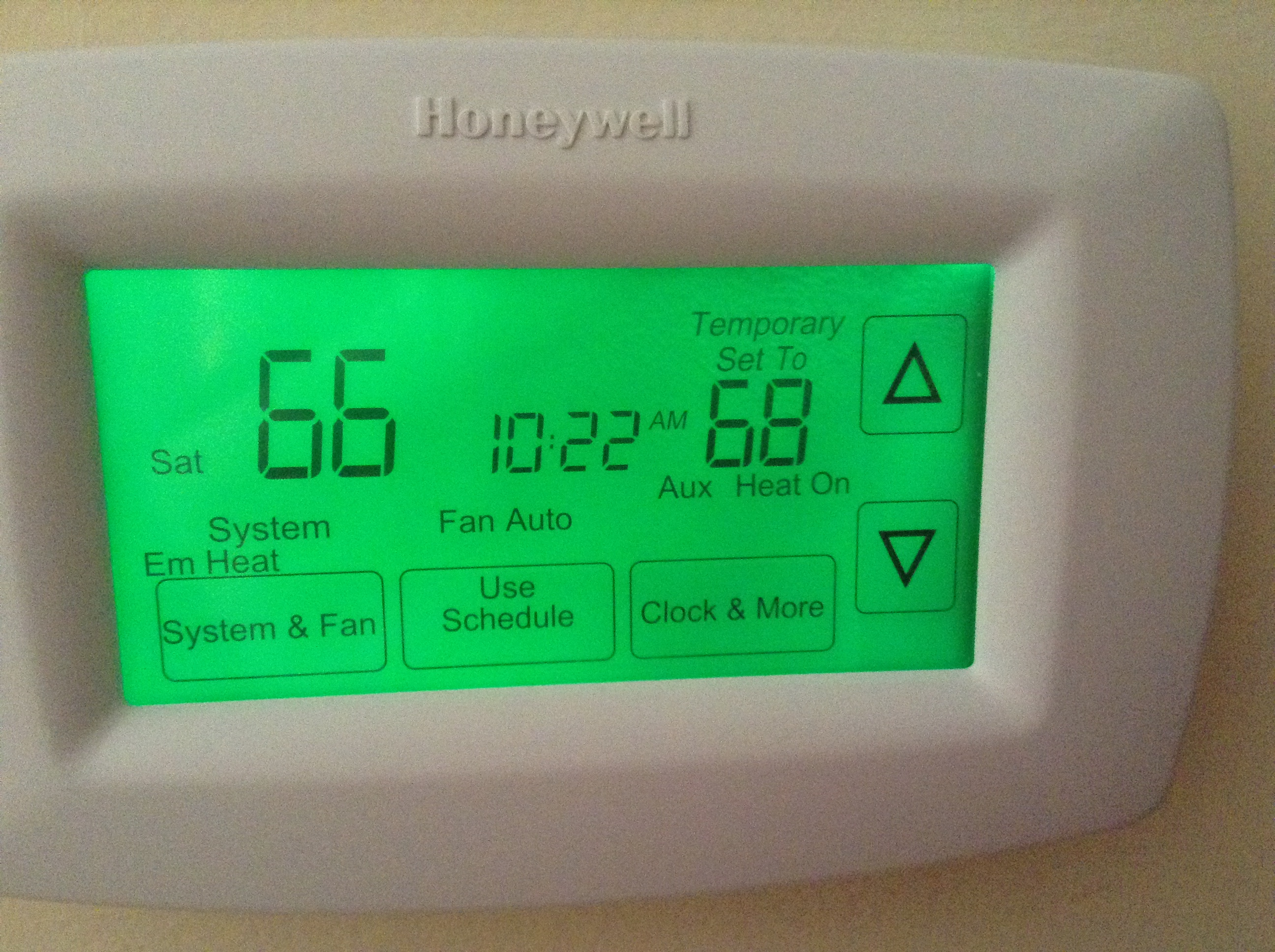 Gotoman  Troubleshooting Honeywell Rth7600 With Heat Pump