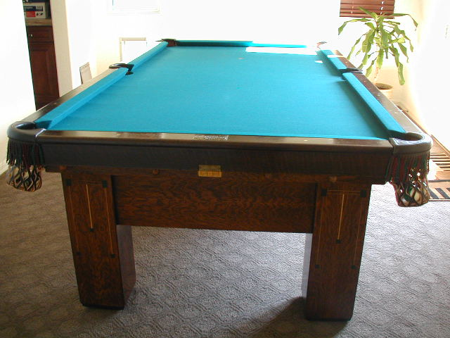 I Live In Las Vegas Nevada And Have An Antique Brunswick Pool Table - Brunswick monarch pool table