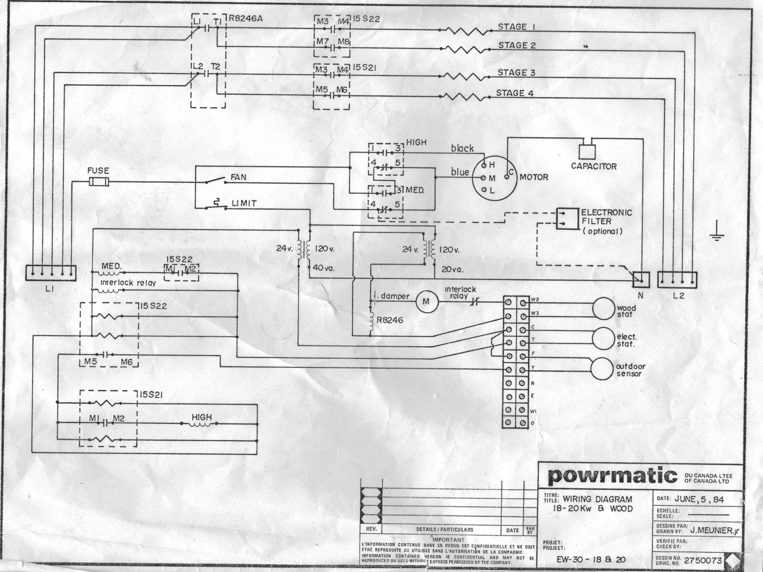I Have A Powermatic Furnace Combining Electricity It Is 30 Heater 120v Wiring Diagrams Years Old And Give Me Satisfaction All This Time But