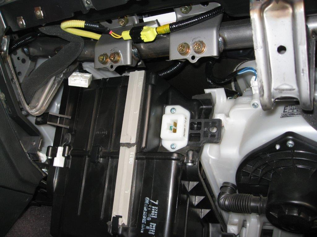 I Need To Tie The Reverse Wire From Kenwood Deck A Backup 2014 Nissan Pathfinder Wiring Diagram Blower Box Behind Kick Panel