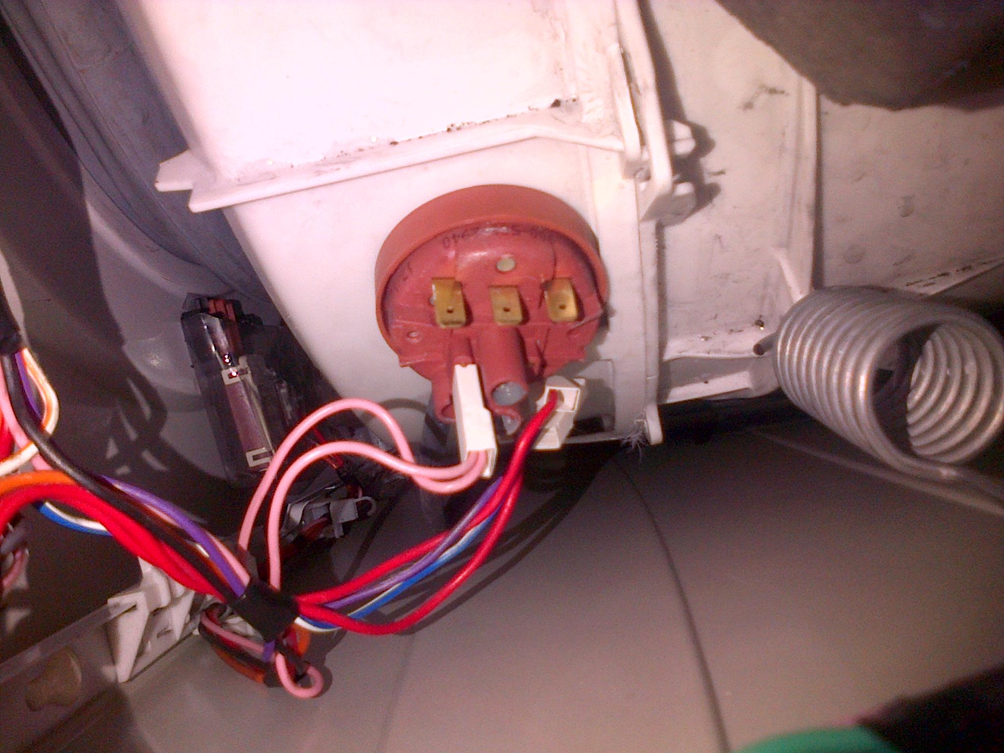 Beko wm5100w pressure valve?