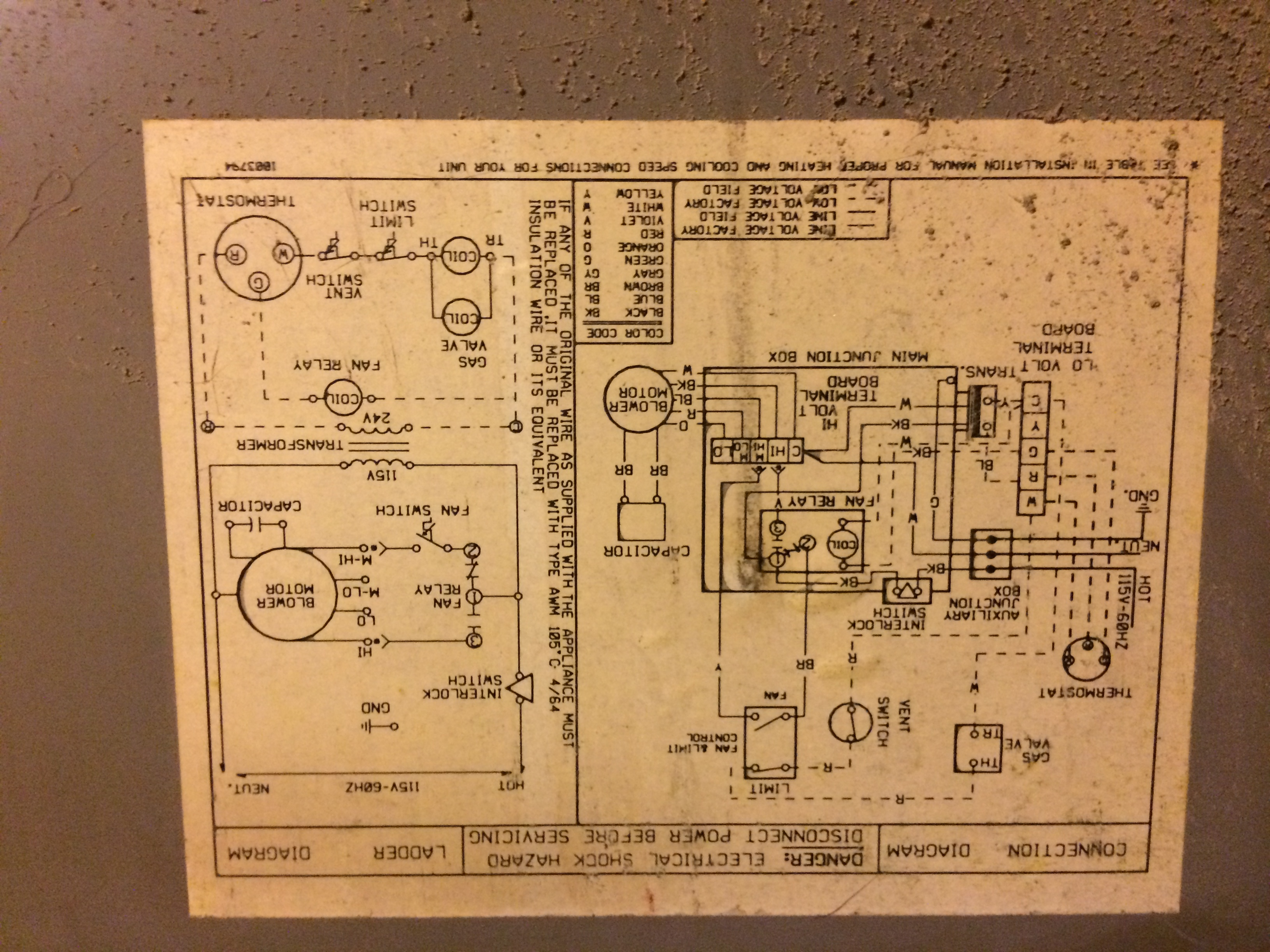 I Was Reading Your Exchange About The Pro1 Iaq Thermostat And Did Wiring Diagram Furnace