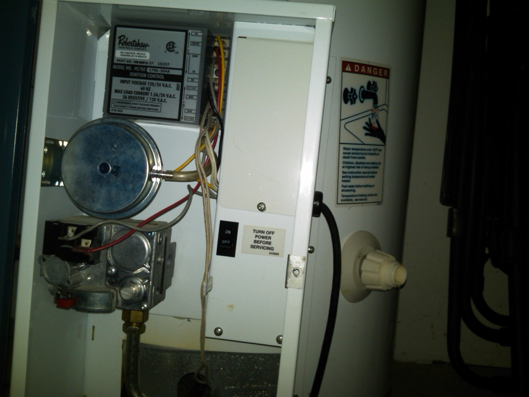 lighting instructions for gas water heater