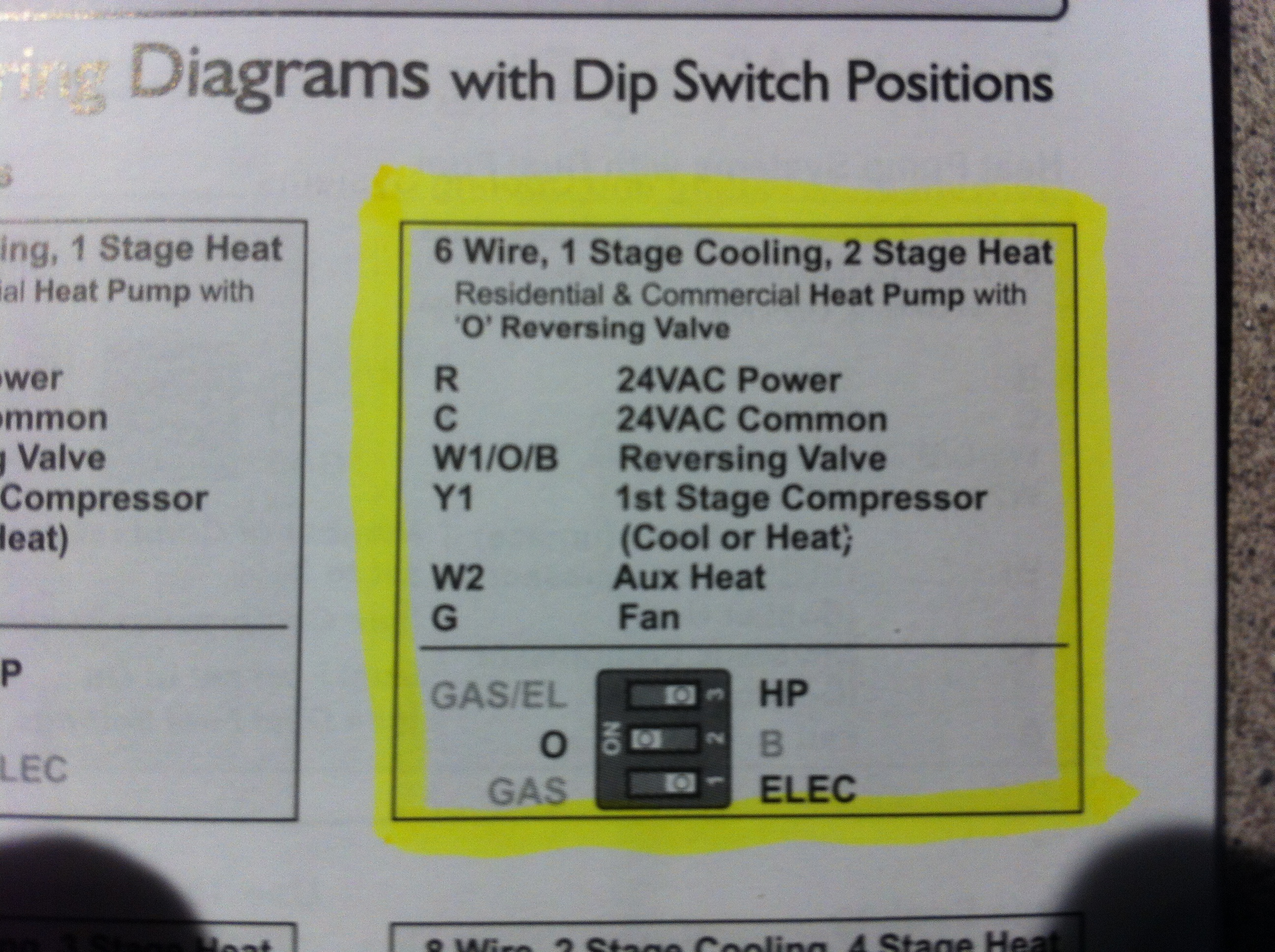 Robertshaw Heat Pump Thermostat Wiring Diagram Library 6 Wire I Have A Robert Shaw 3210 With R C B W2