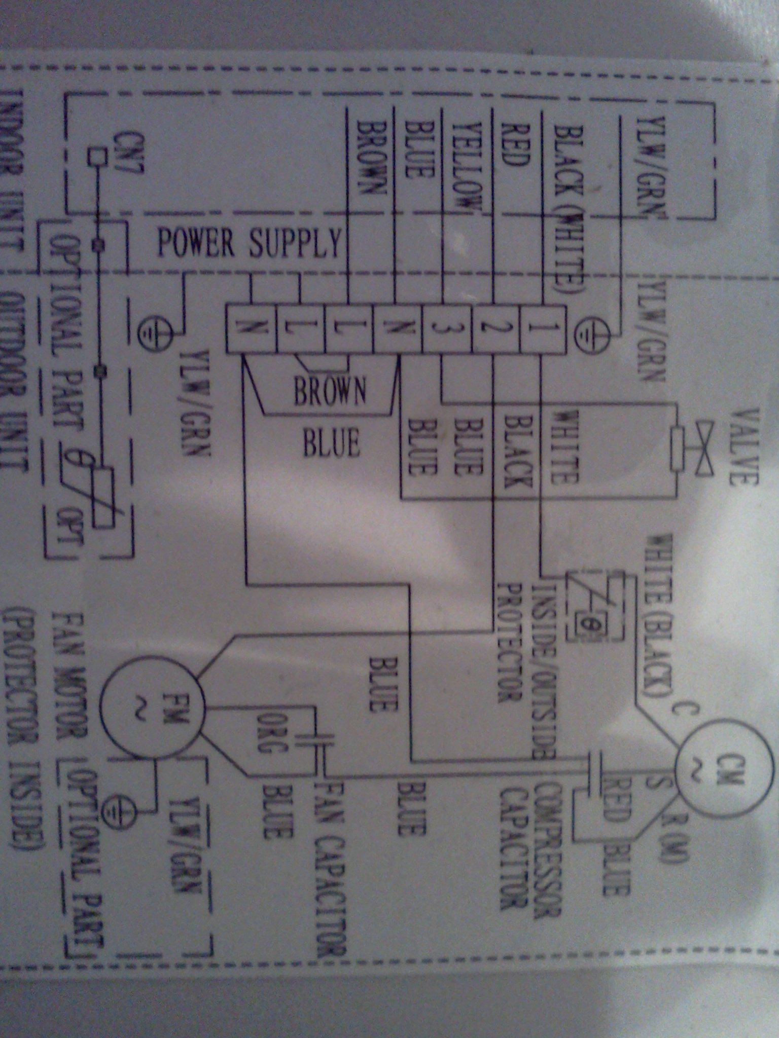 Wiring Diagram For Aircon : I have installed a ramsond split air conditioner with