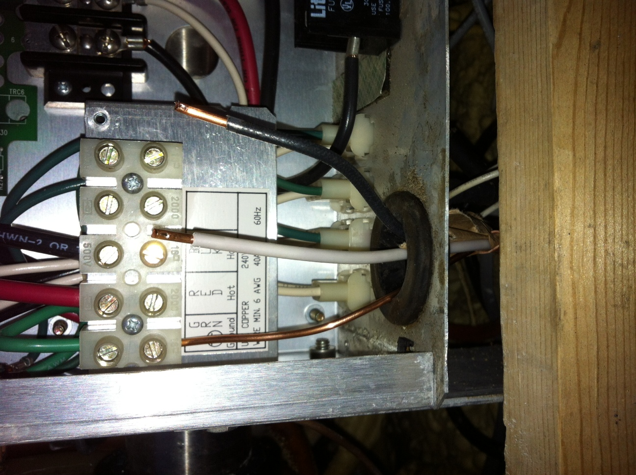 I just bought a used spa and wired it using a 50 amp breaker which i full size image keyboard keysfo Images
