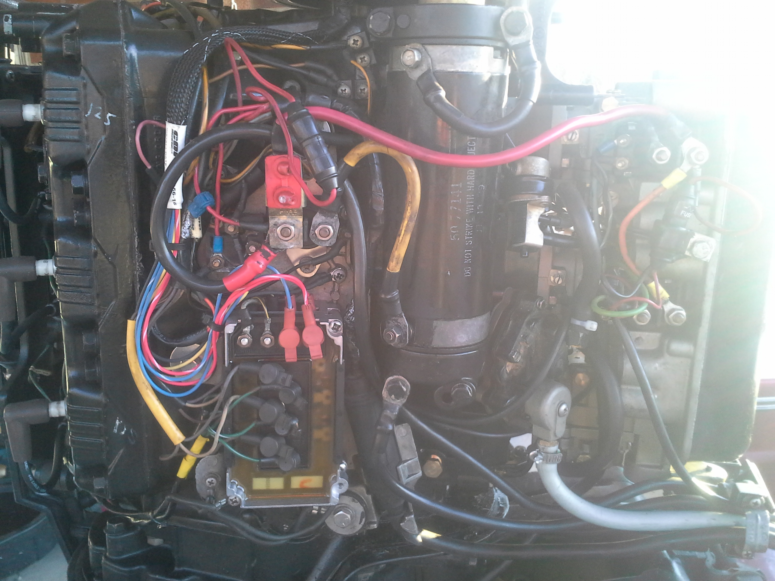 I Have A Mercury 150 Black Max That Has No Power Under Load Boat 1988 Xr2 Wiring Diagrams Customer Reply