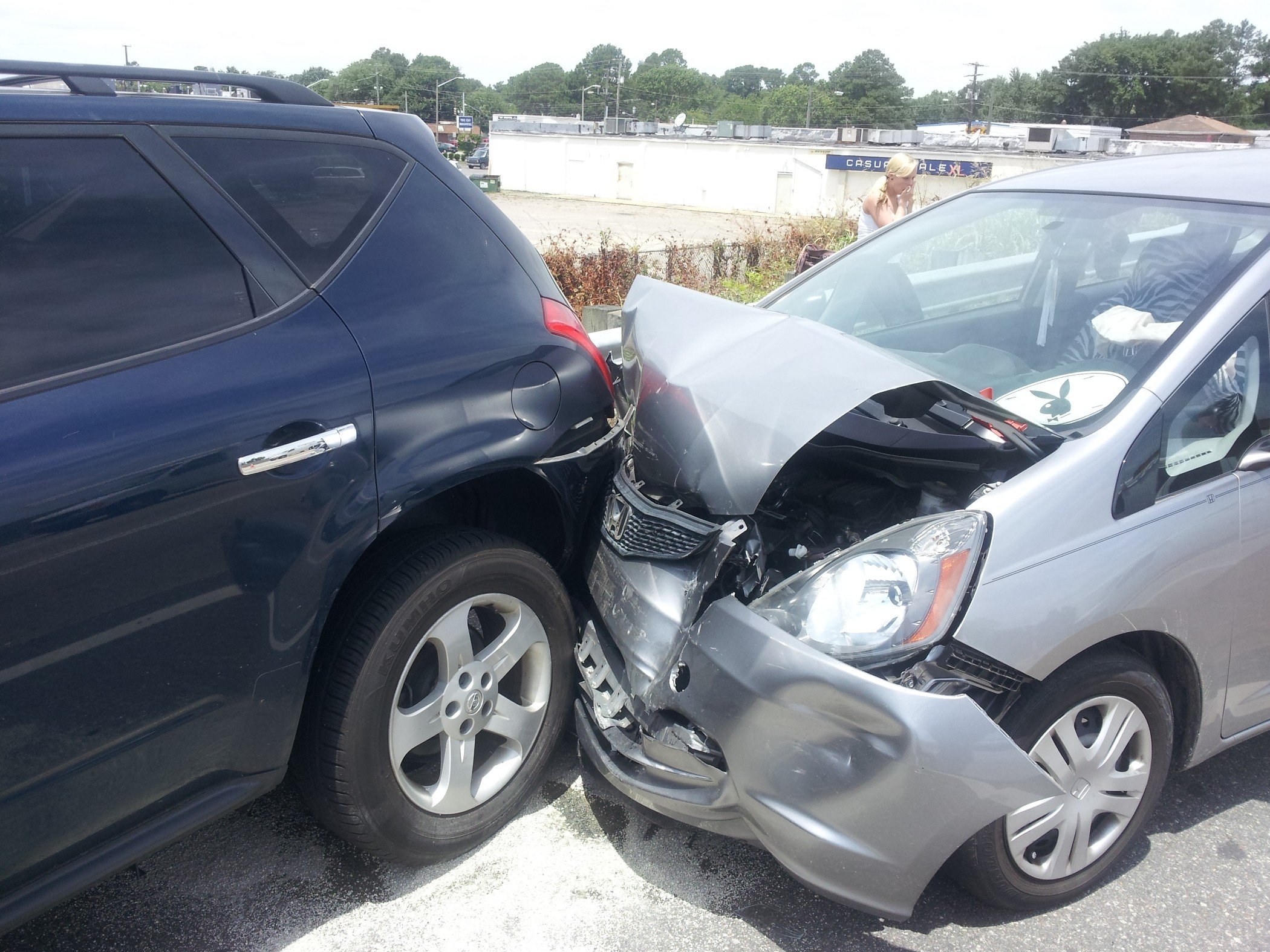 2005 Nissan Murano Sl 89 000 Miles I Was Rear Ended By