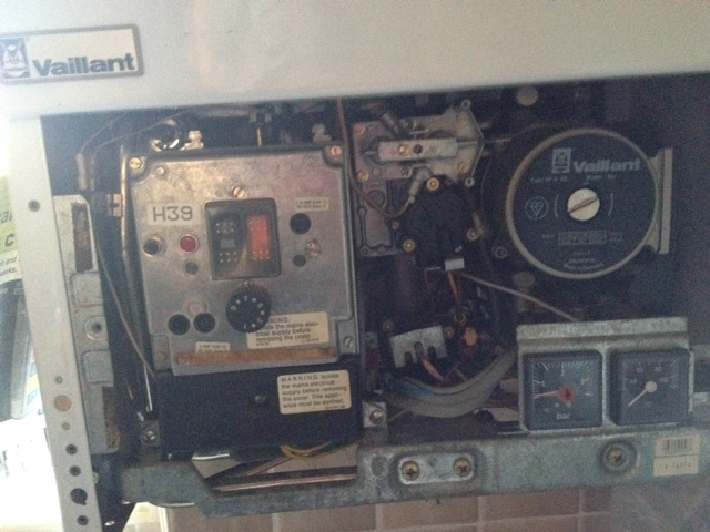I Am Desperate To Up The Water Pressure On My Vaillant Vp5