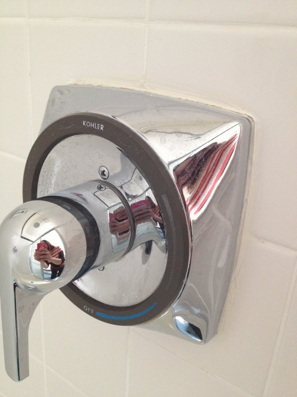 Can someone tell me how to remove a Kohler Coralais shower handle ...