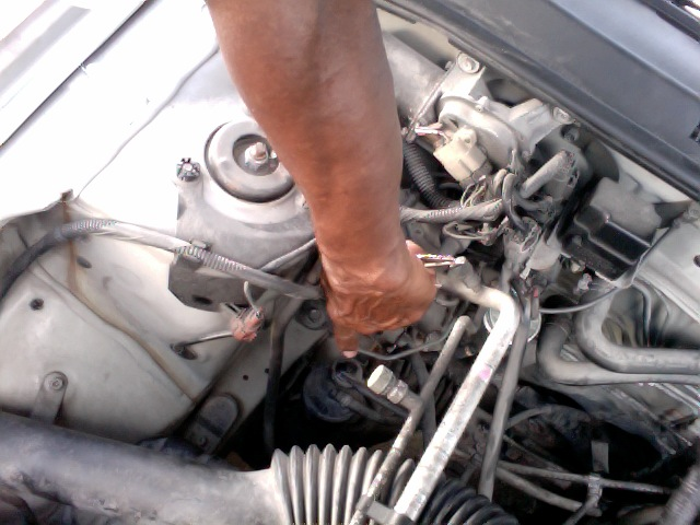 I've got a problem with a Nissan Sunny (sold as a Sentra ...