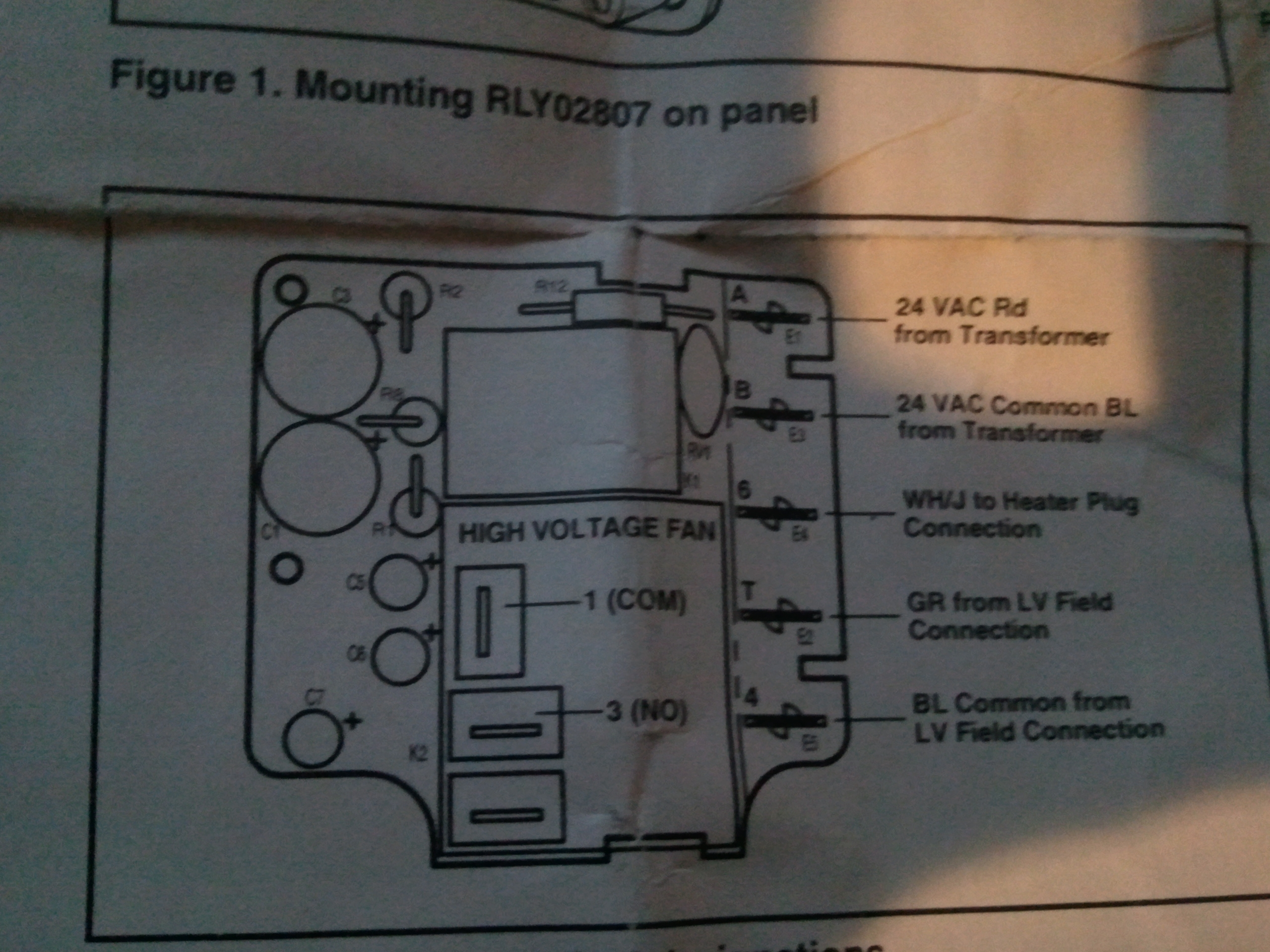 Relay Delay on Thermostat Wiring Diagram Heat Pump
