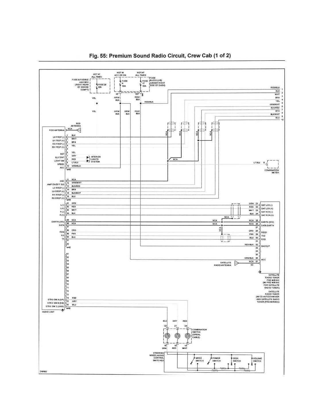 2011 Nissan Frontier Stereo Wiring Wiring Diagram For