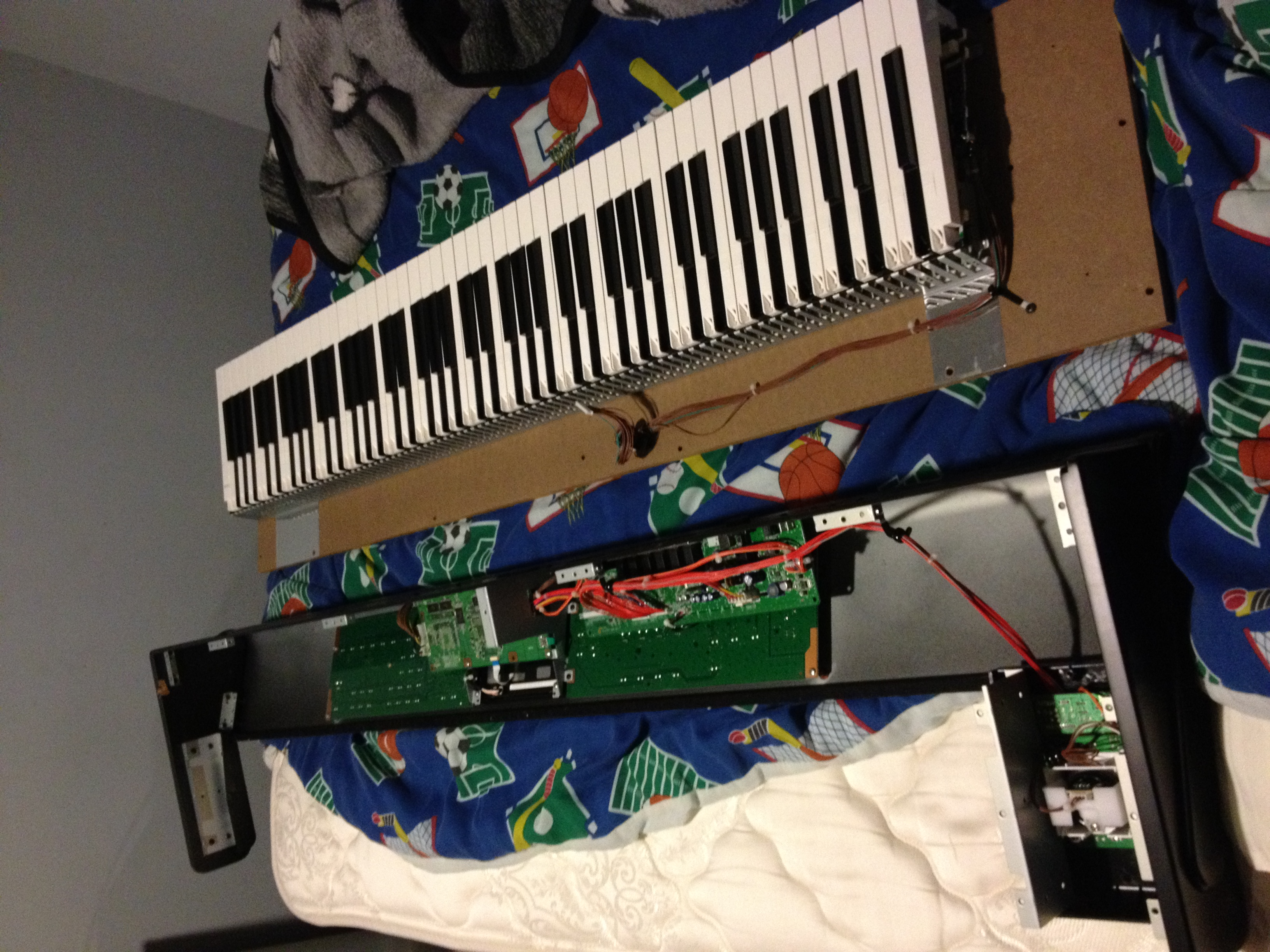 I have an 88-Key Korg M50 and my keyboard is have tuning