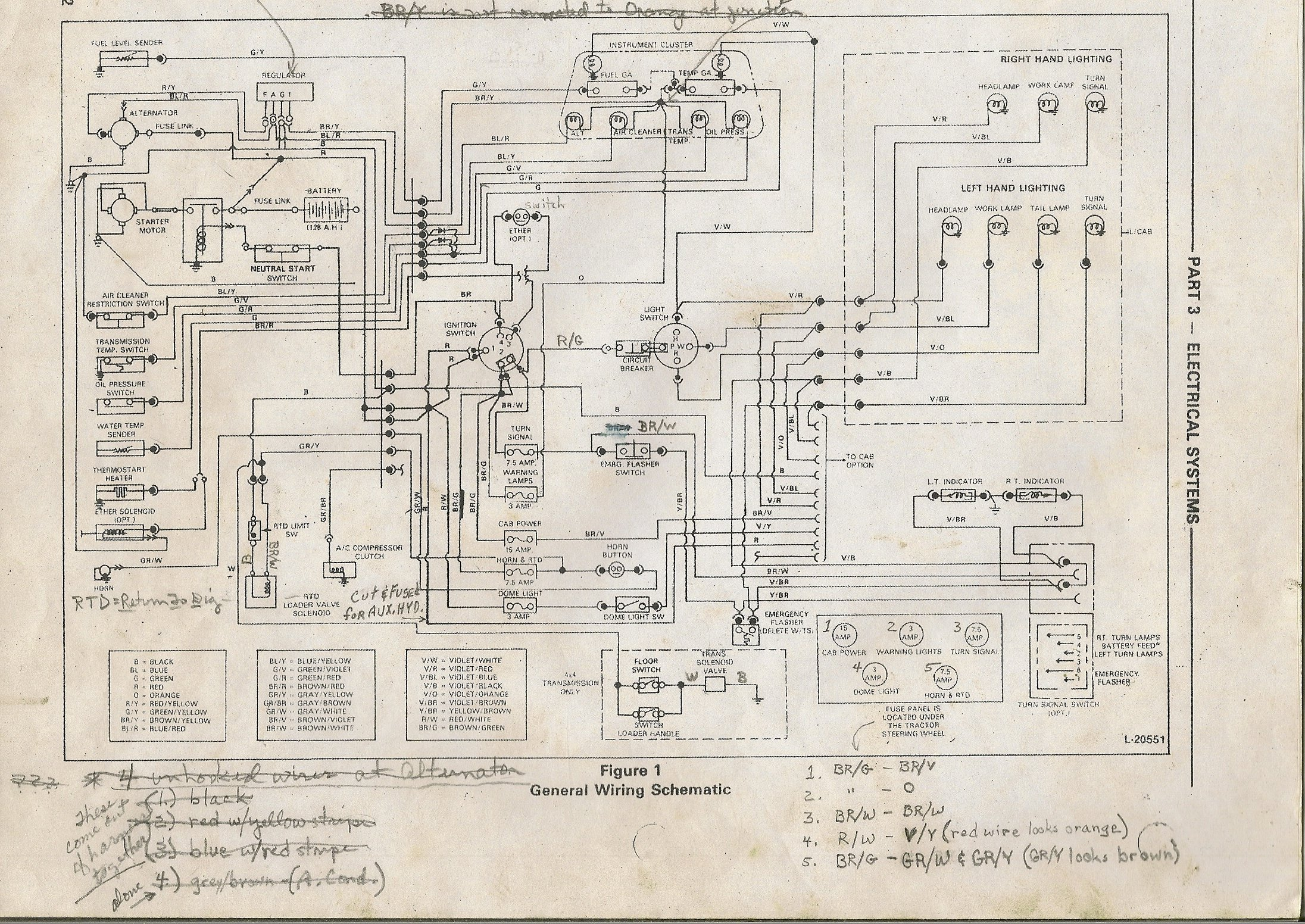 model a ford headlight wiring diagram i have 1987 ford model 655a backhoe that i can get only