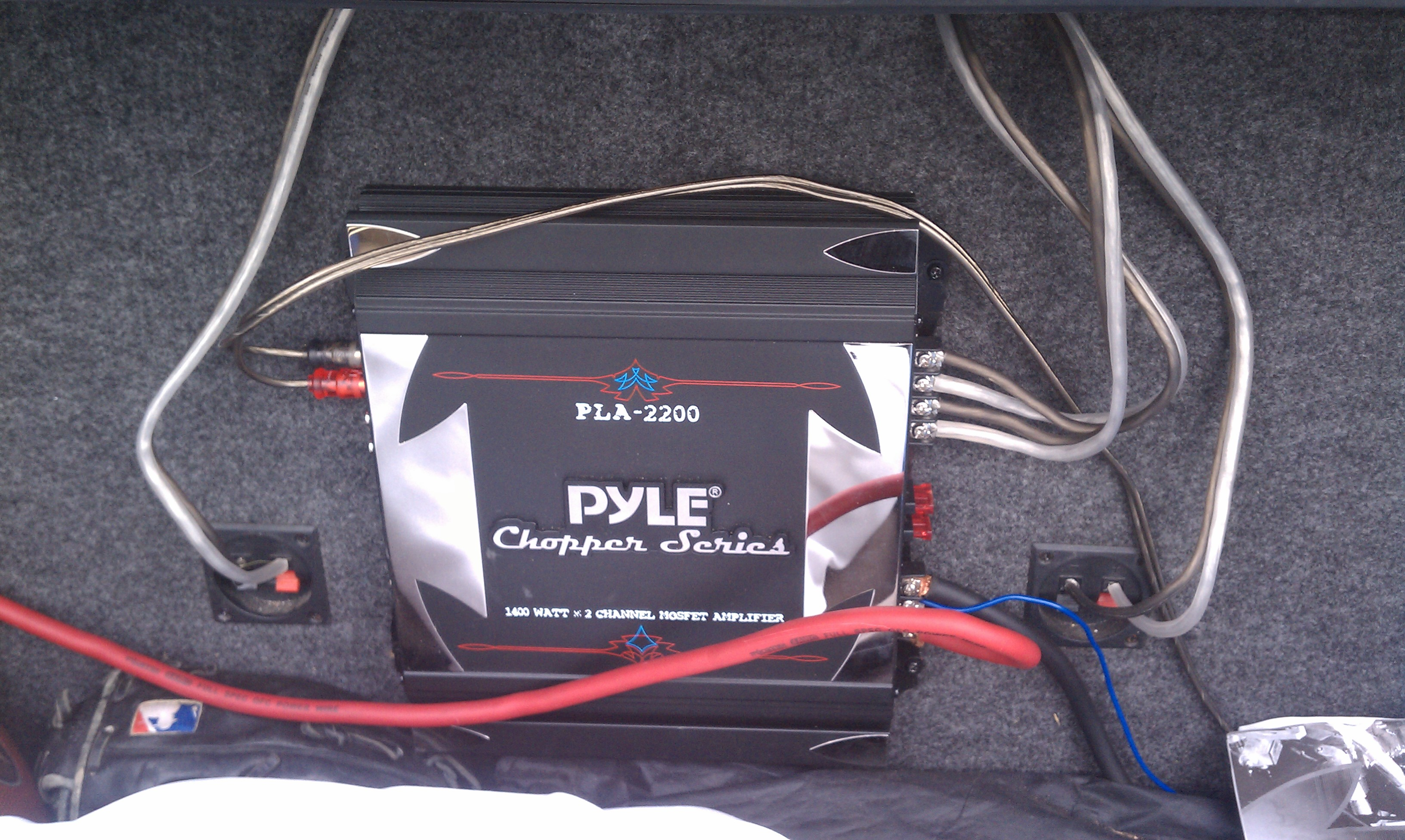 I Have Two Subs Im Trying To Install In My 07 Coupe Si Honda Civic Wire Harness Amp Cable Technician Hi And It All Connected New Radio Which Is