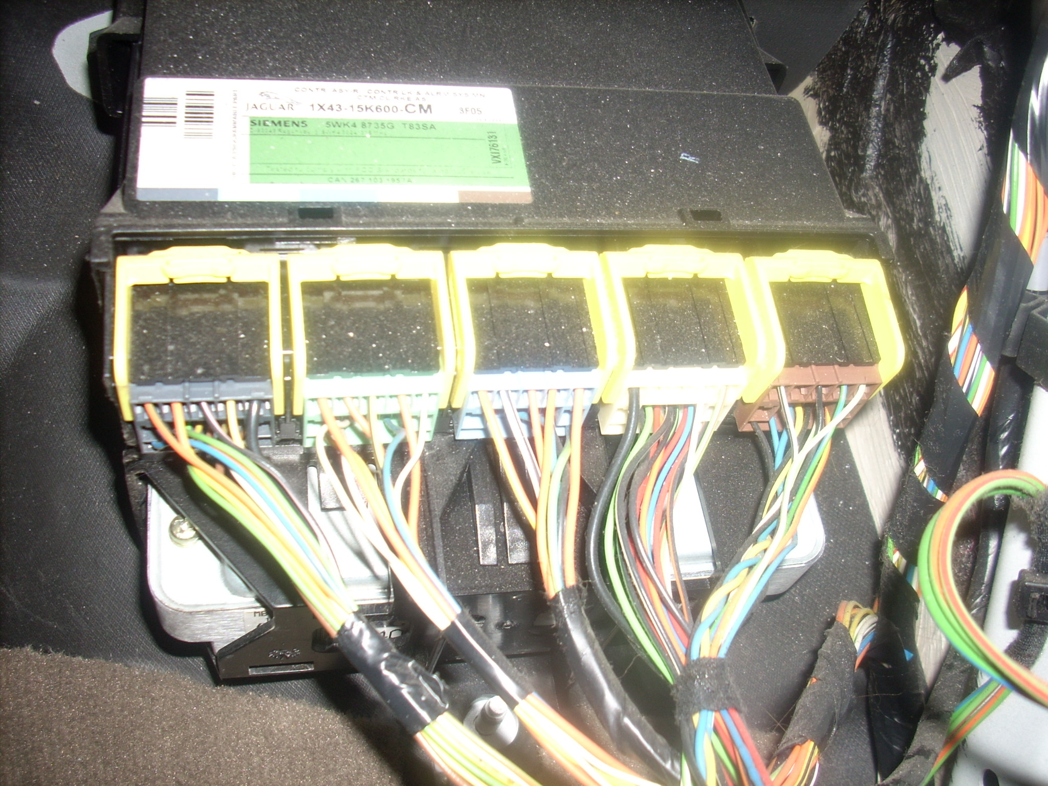I purchased a used ECU module on Ebay and would like to know