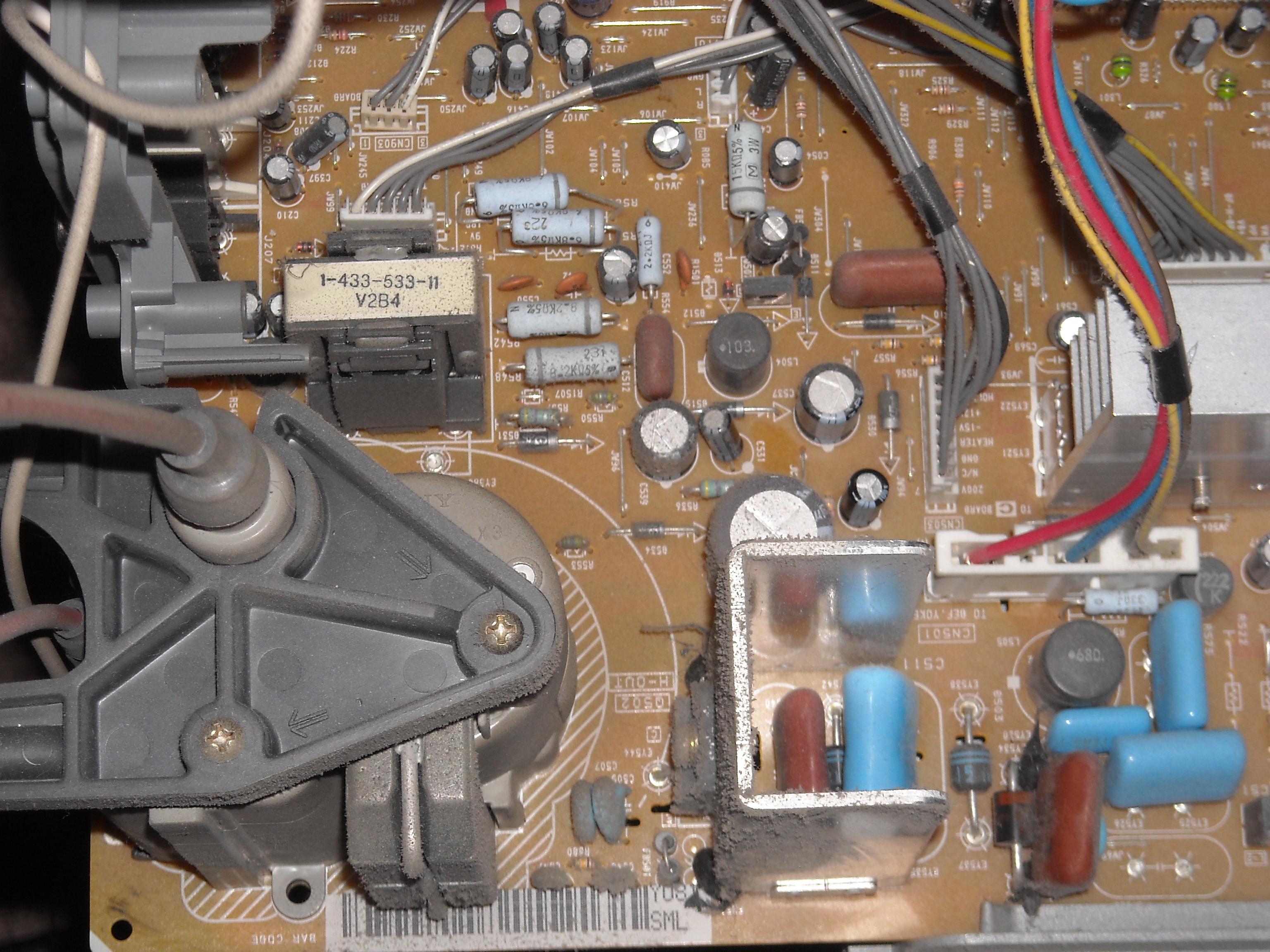 Sony KV-36FS76U Fault Troubleshooting